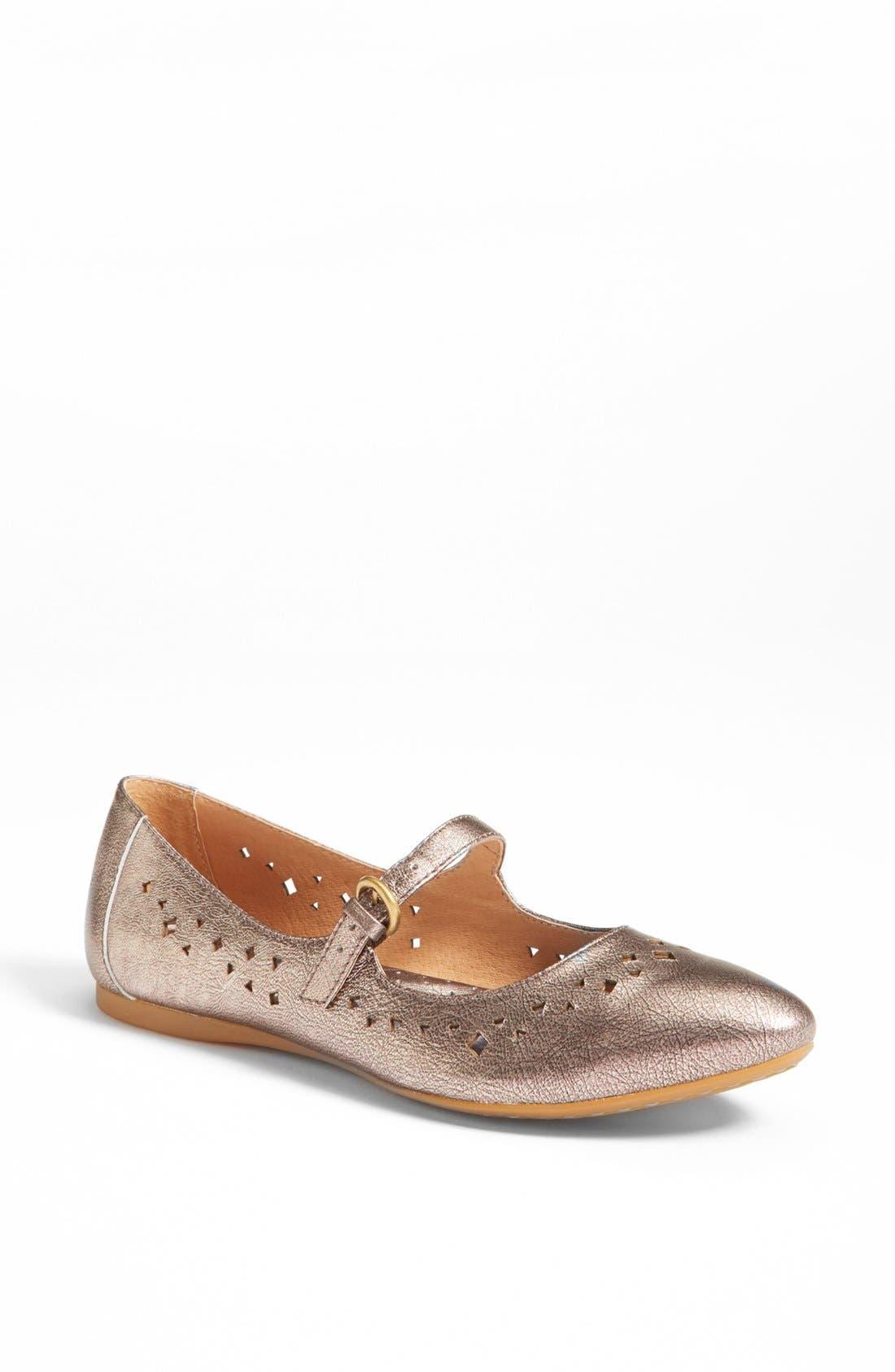 Main Image - Børn 'Linney' Leather Flat
