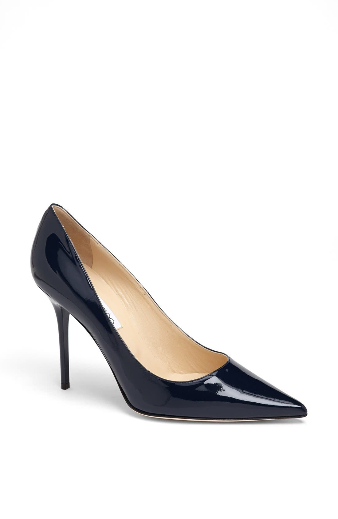 Alternate Image 1 Selected - Jimmy Choo 'Abel' Pointy Toe Pump (Women)