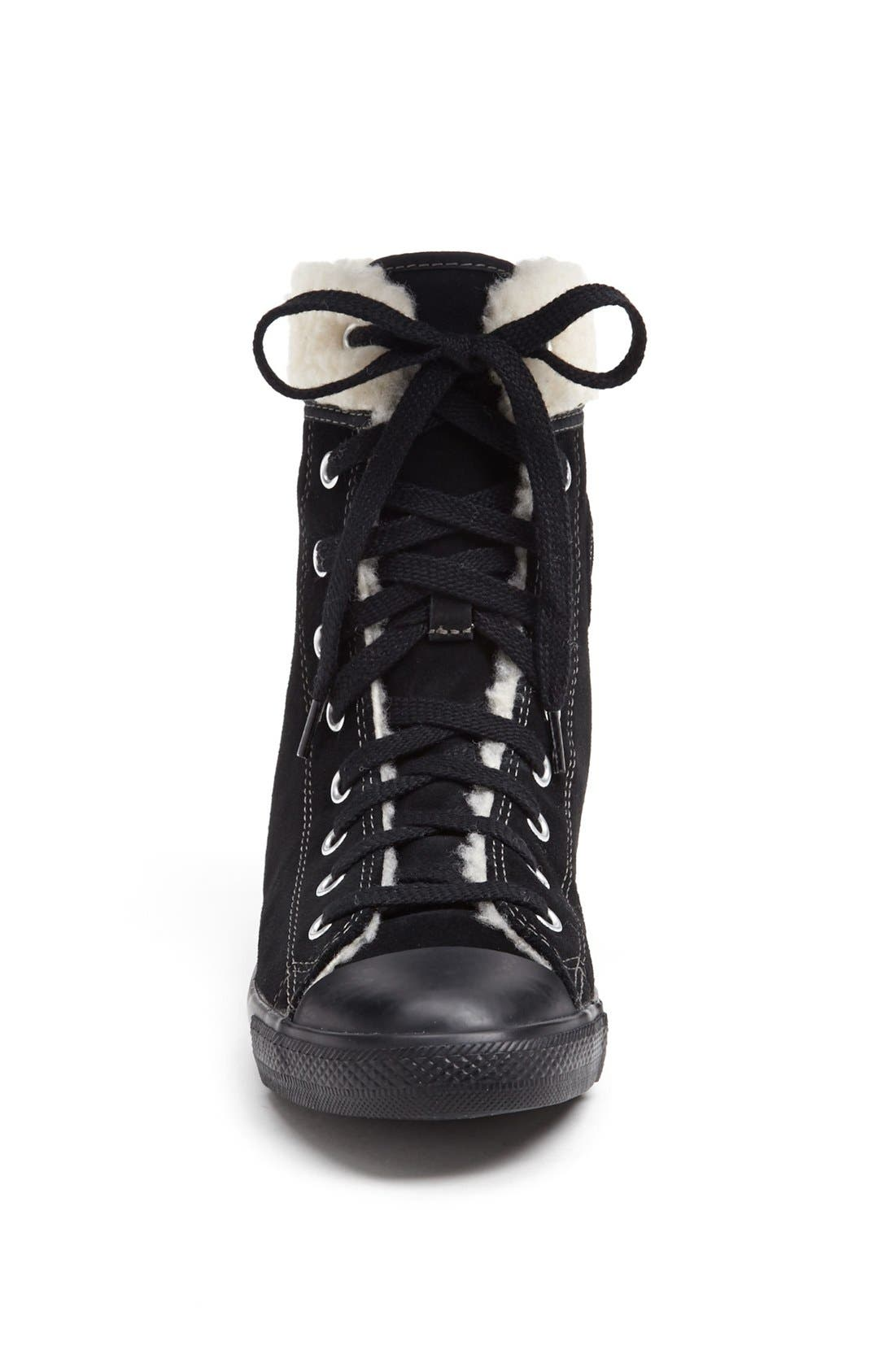 Alternate Image 3  - Converse Chuck Taylor® All Star®' Dainty' Suede High Top Sneaker (Women)