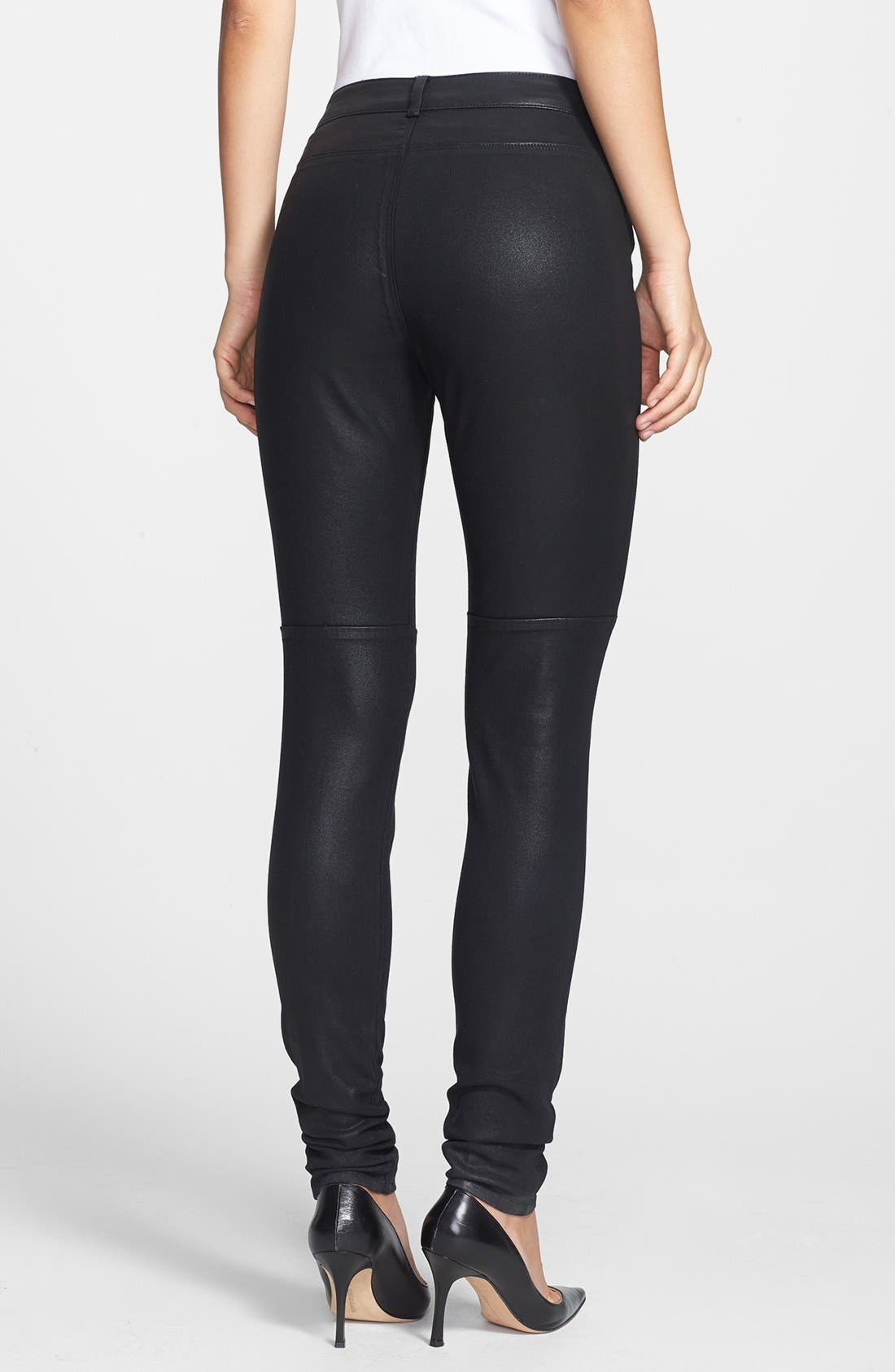 Alternate Image 2  - Rachel Roy Coated Skinny Pants