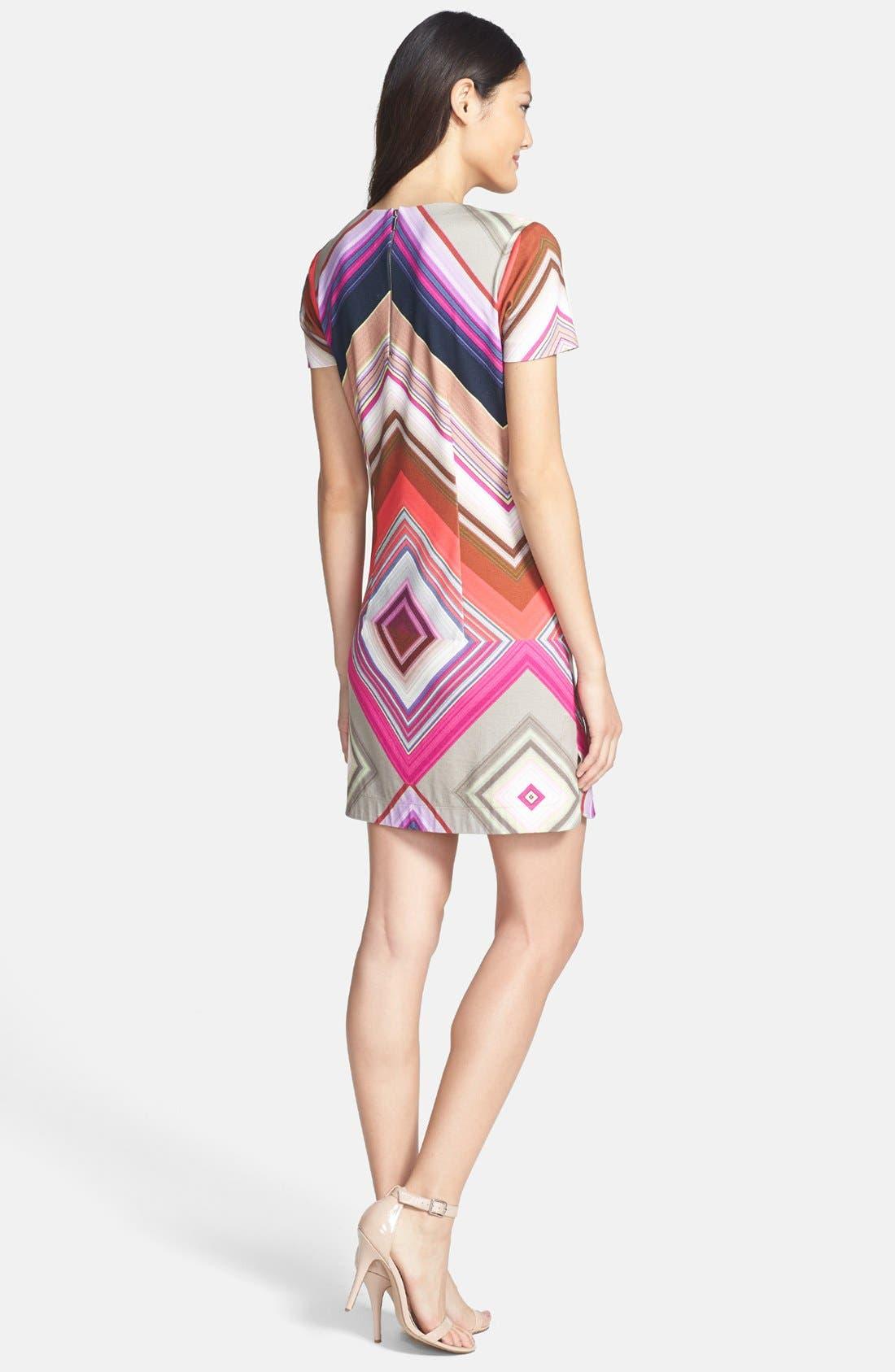 Alternate Image 2  - Trina Turk 'Jeju' Print Ponte Shift Dress
