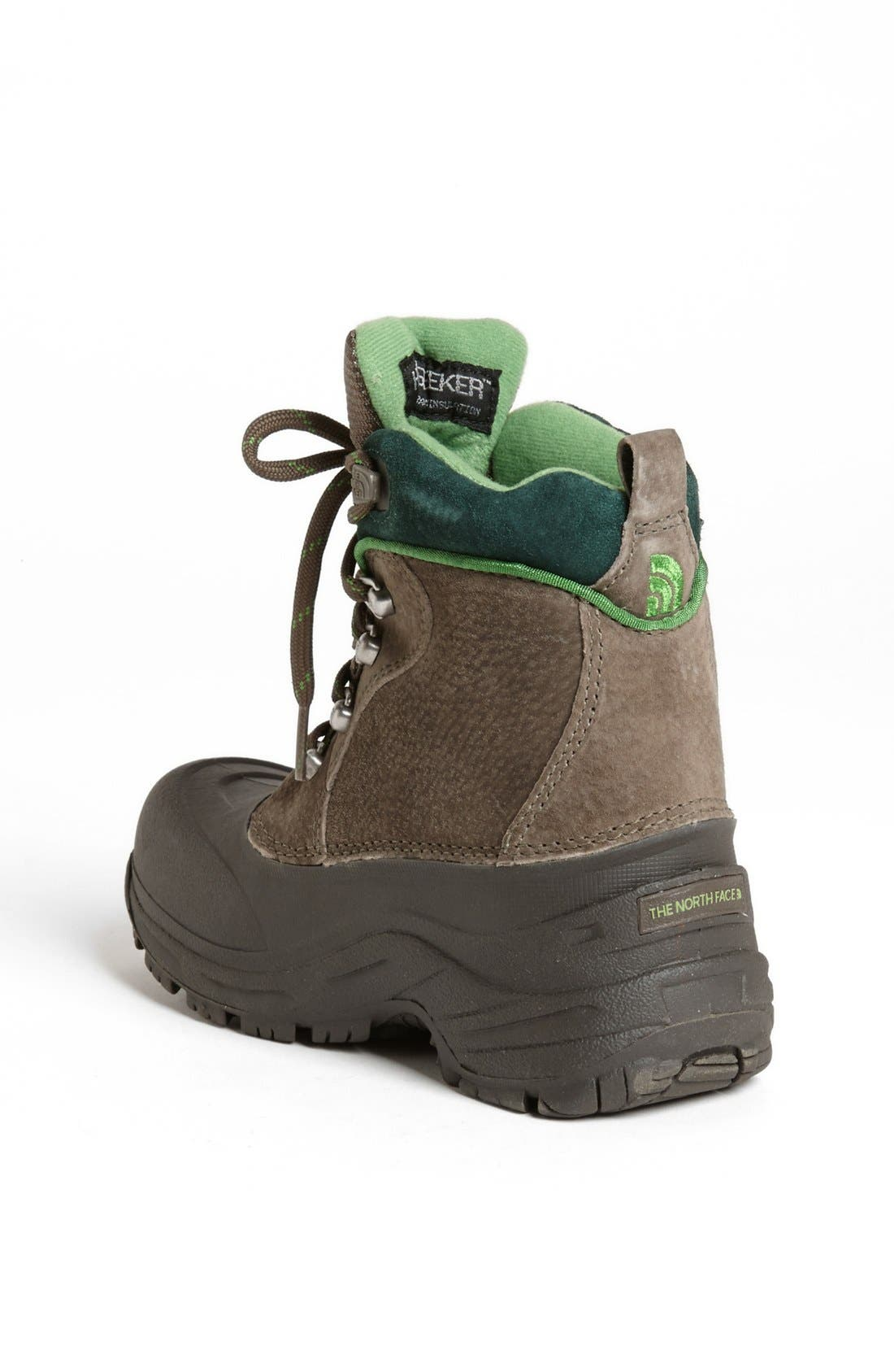 Alternate Image 2  - The North Face 'Chilkats' Lace Up Waterproof Snow Boot (Toddler, Little Kid & Big Kid)