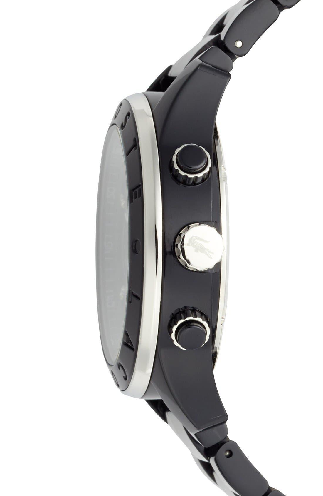 Alternate Image 3  - Lacoste Chronograph Bracelet Watch, 40mm
