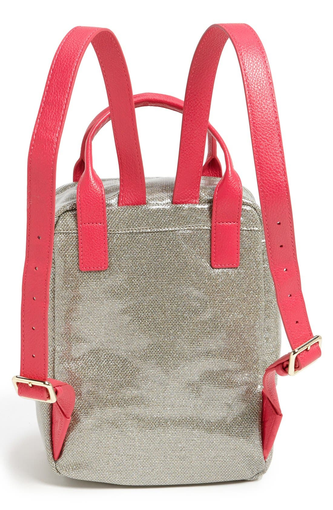 Alternate Image 4  - Juicy Couture 'Bright Diamond' Backpack (Girls)