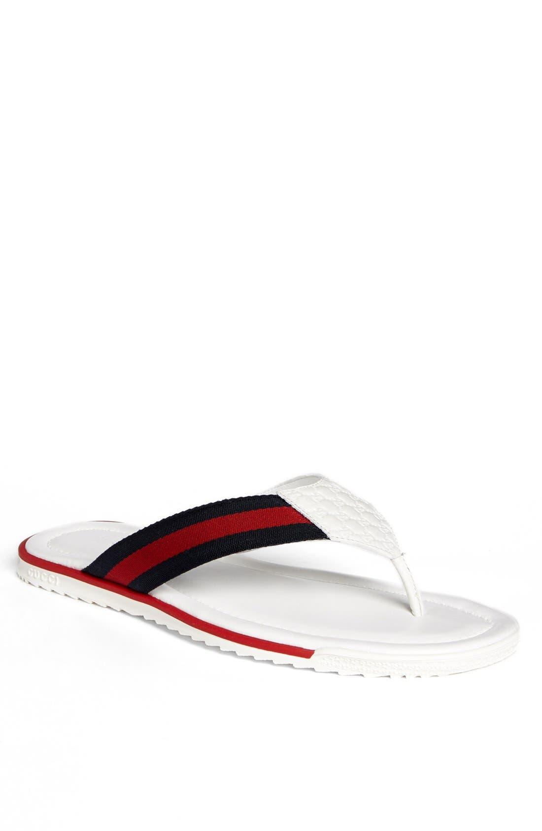 Main Image - Gucci 'SL 73 Beach' Flip Flop
