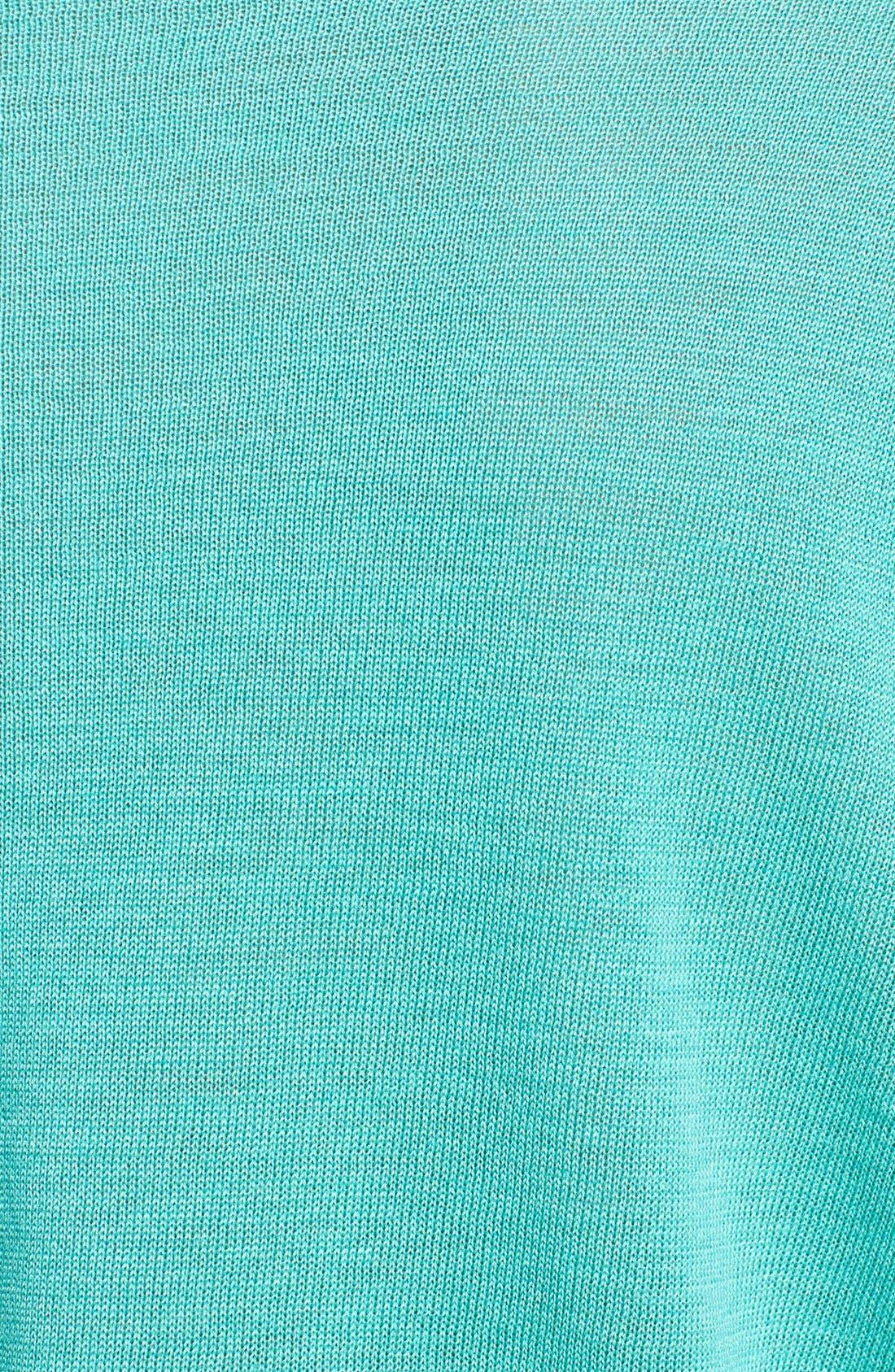 Alternate Image 3  - Adrianna Papell Roll Tab Sleeve Pullover