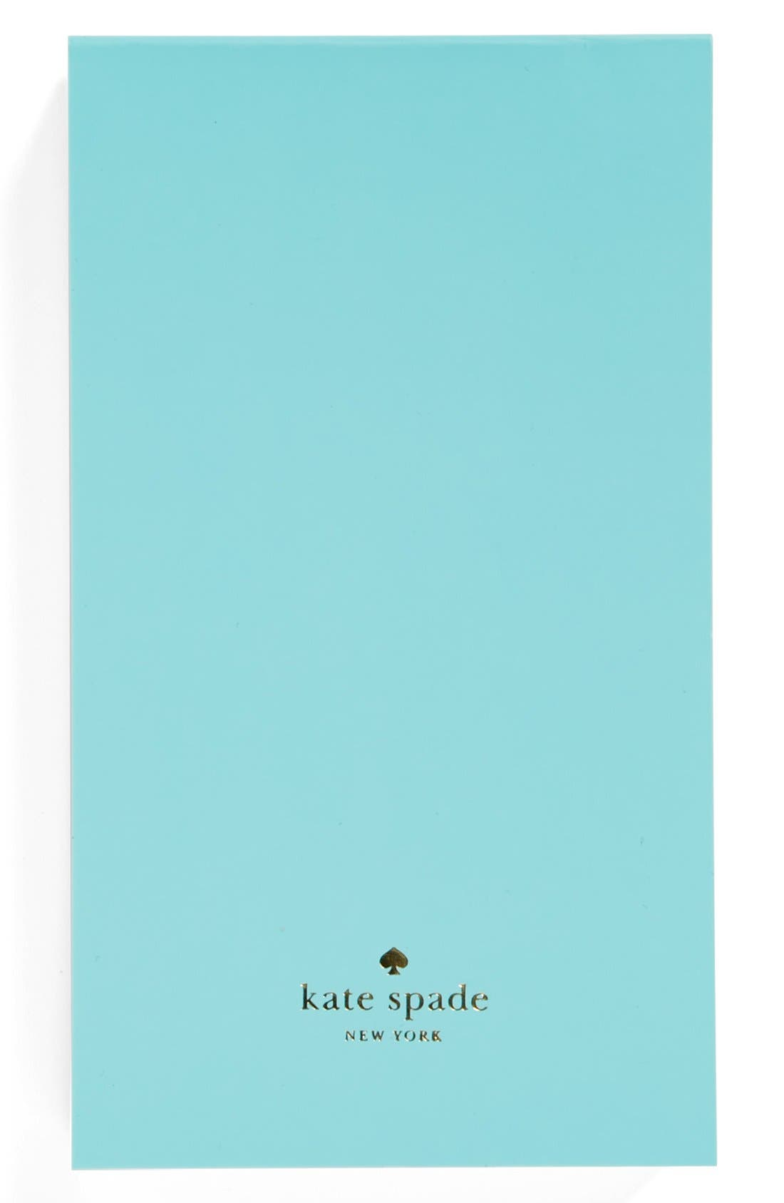 Alternate Image 1 Selected - kate spade new york small notepad