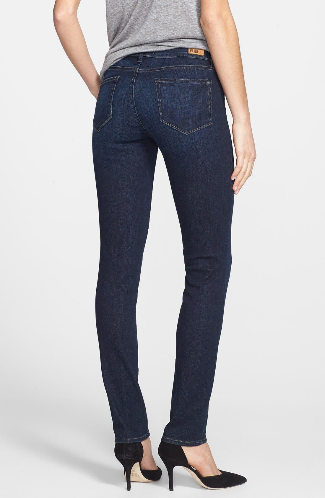 Alternate Image 2  - Paige Denim 'Skyline' Skinny Jeans (Trinity)