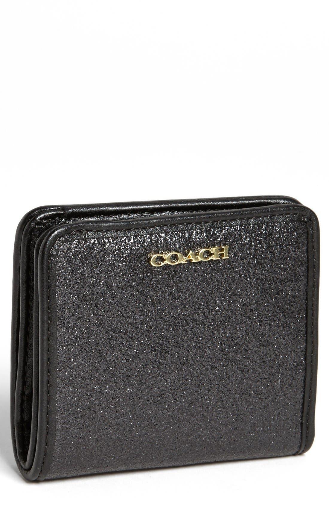Alternate Image 1 Selected - COACH 'Glitter' Bifold Wallet