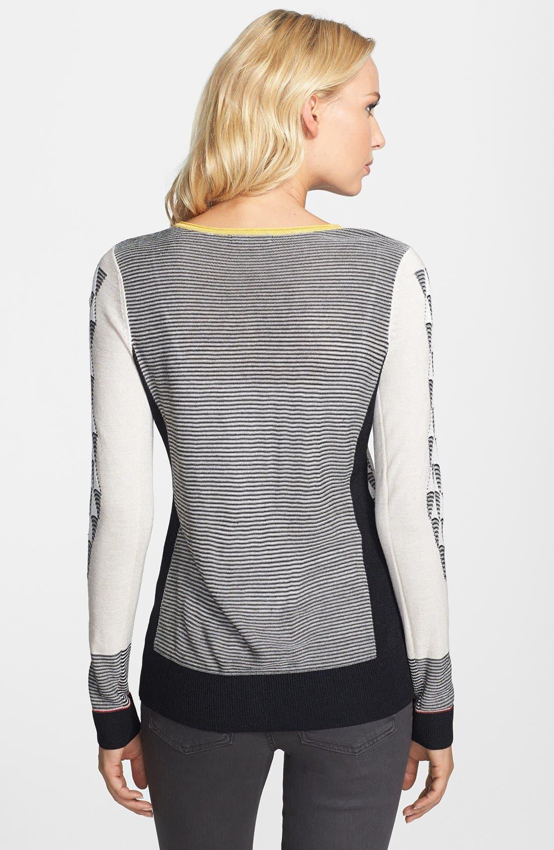 Alternate Image 2  - NIC+ZOE 'Ombréd Angles' Cardigan (Regular & Petite)