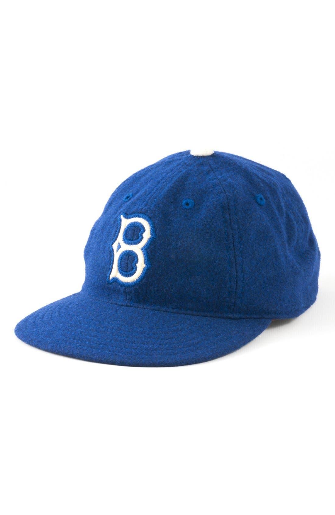 Alternate Image 1 Selected - American Needle 'Brooklyn Dodgers - Statesman' Baseball Cap