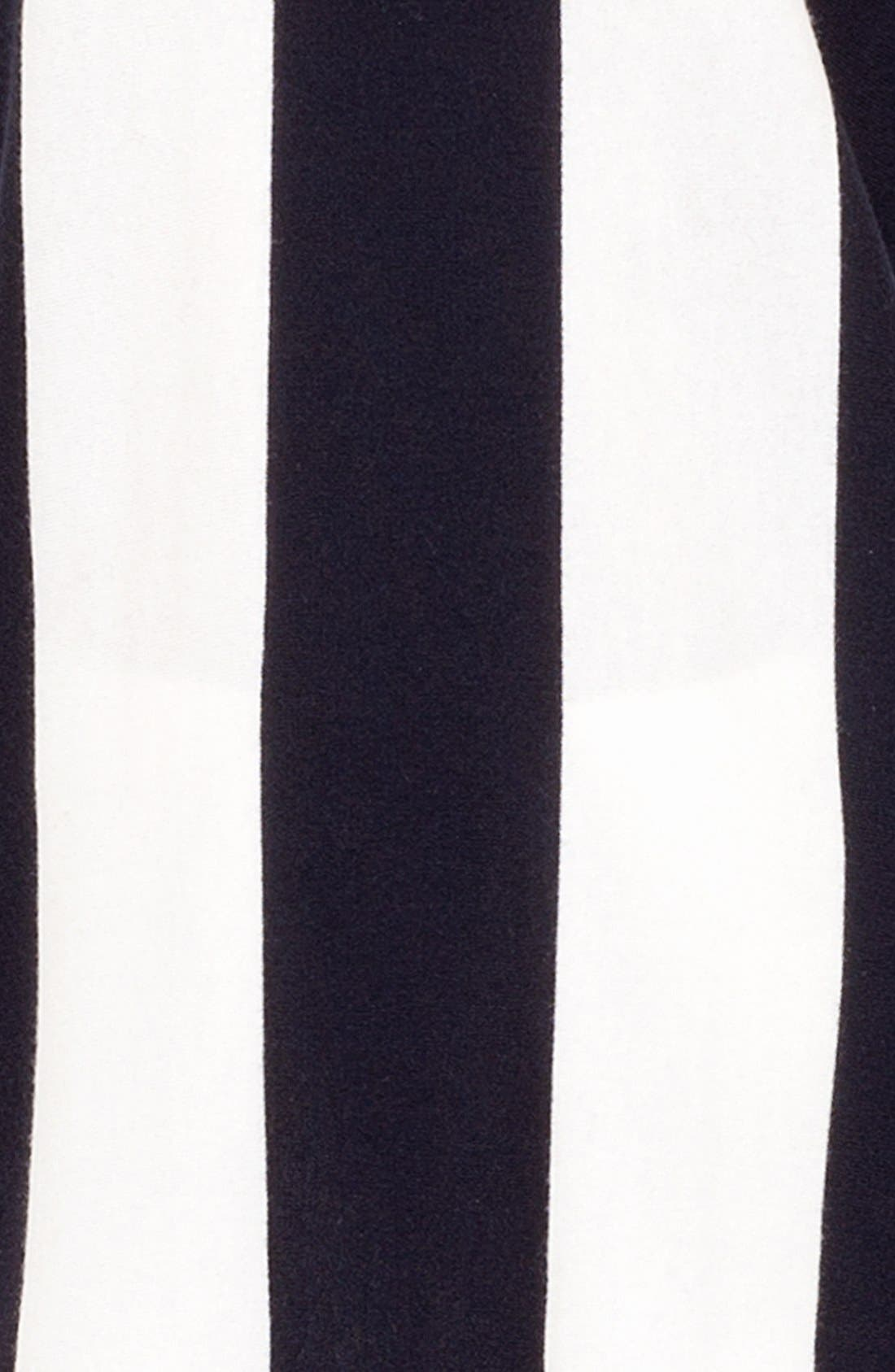 Alternate Image 5  - Akris punto Stripe Knit Tunic Sweater