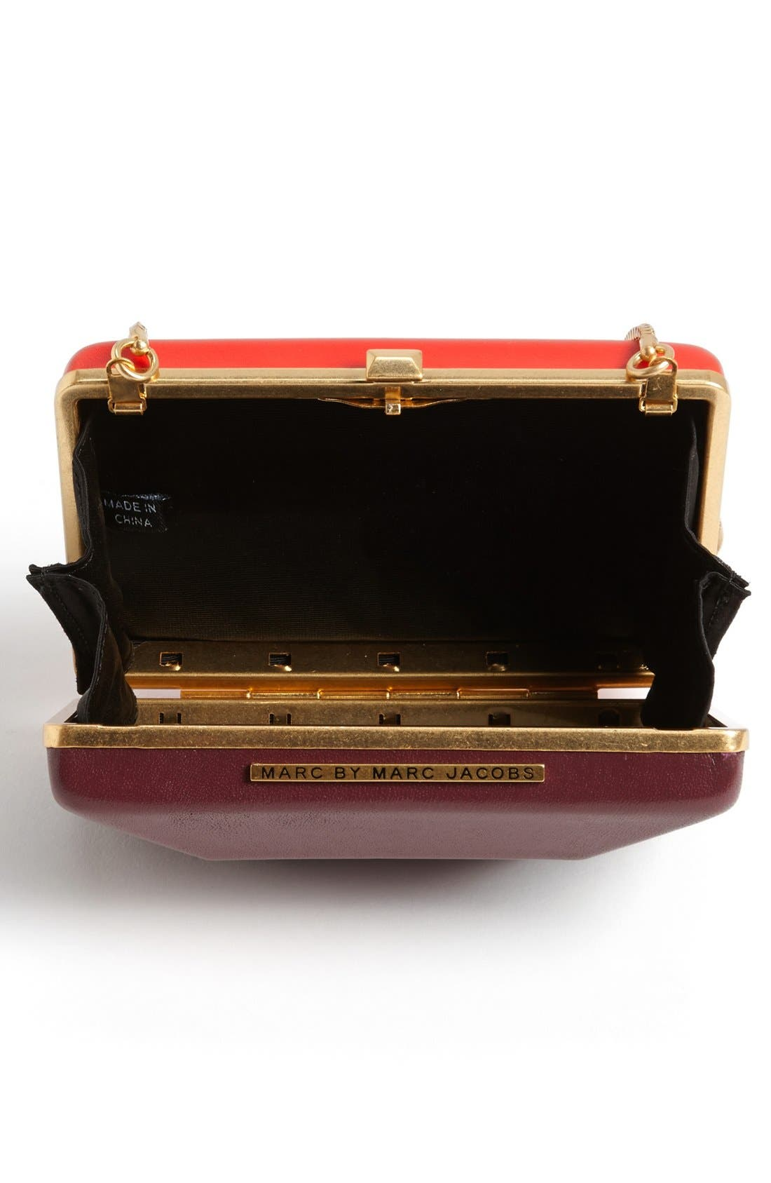 Alternate Image 3  - MARC BY MARC JACOBS 'Box It Up' Colorblock Leather Clutch