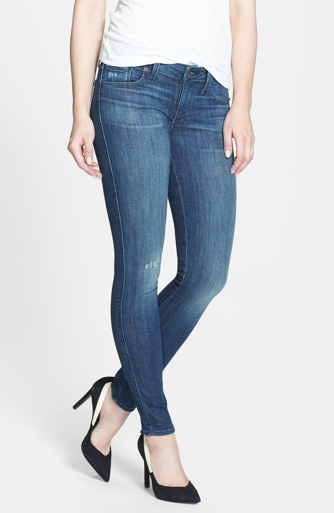 Alternate Image 1 Selected - Genetic 'Shya' Cigarette Skinny Jeans (Enigma)