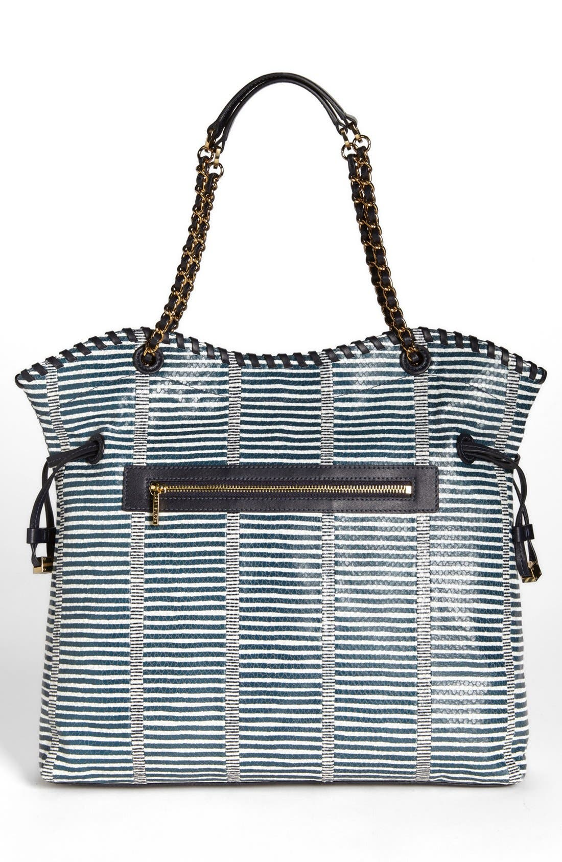 Alternate Image 4  - Tory Burch 'Marion Patchwork' Leather Tote