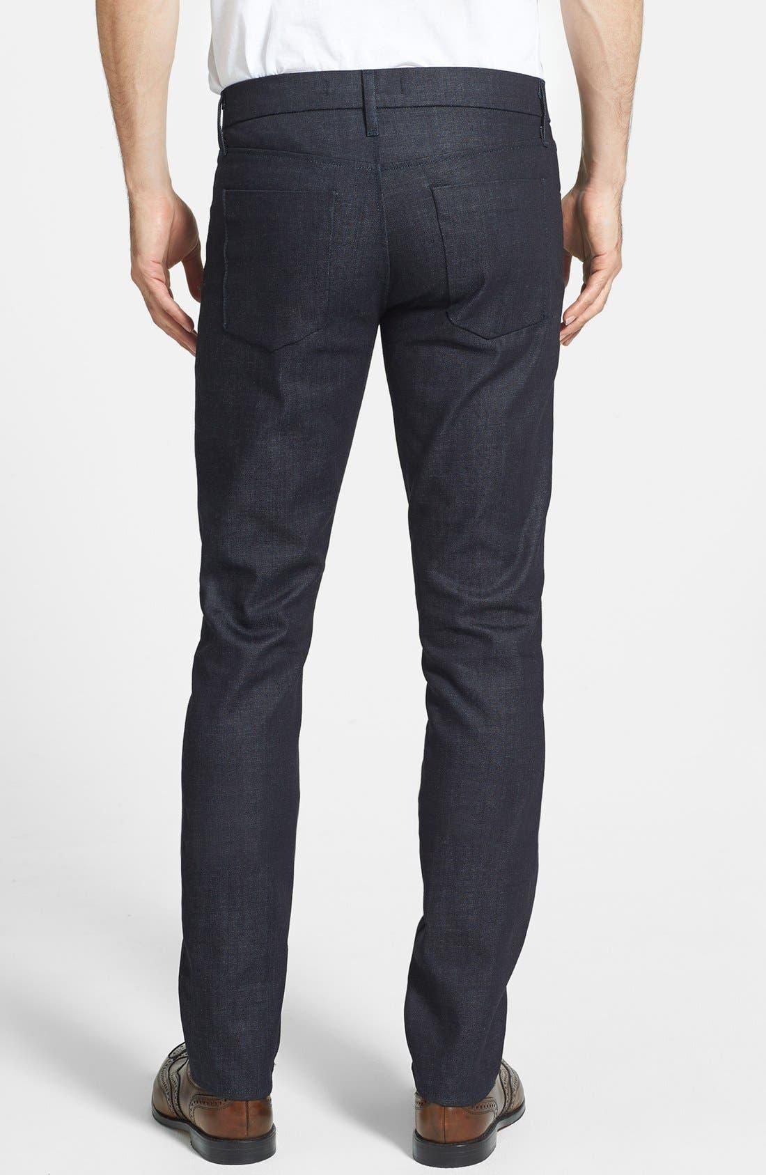 Alternate Image 2  - J Brand 'Tyler' Skinny Fit Jeans (Clean Raw)