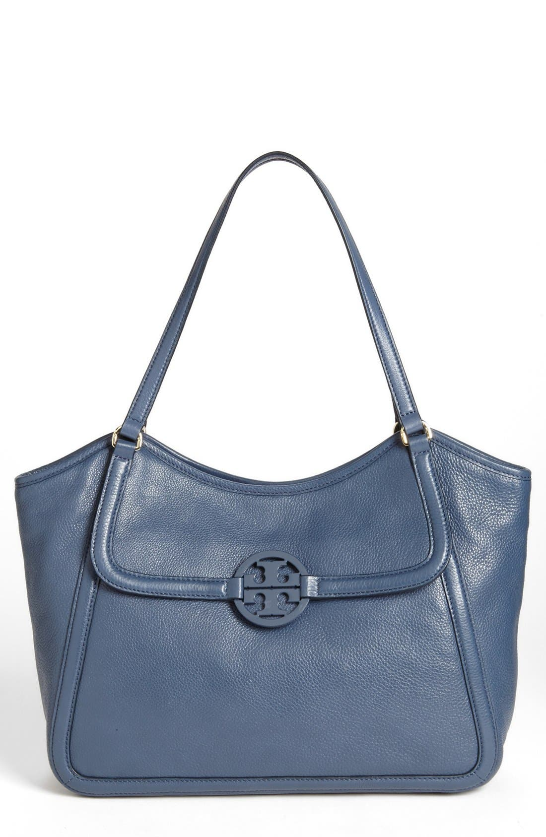 Alternate Image 1 Selected - Tory Burch 'Small Amanda' Leather Tote