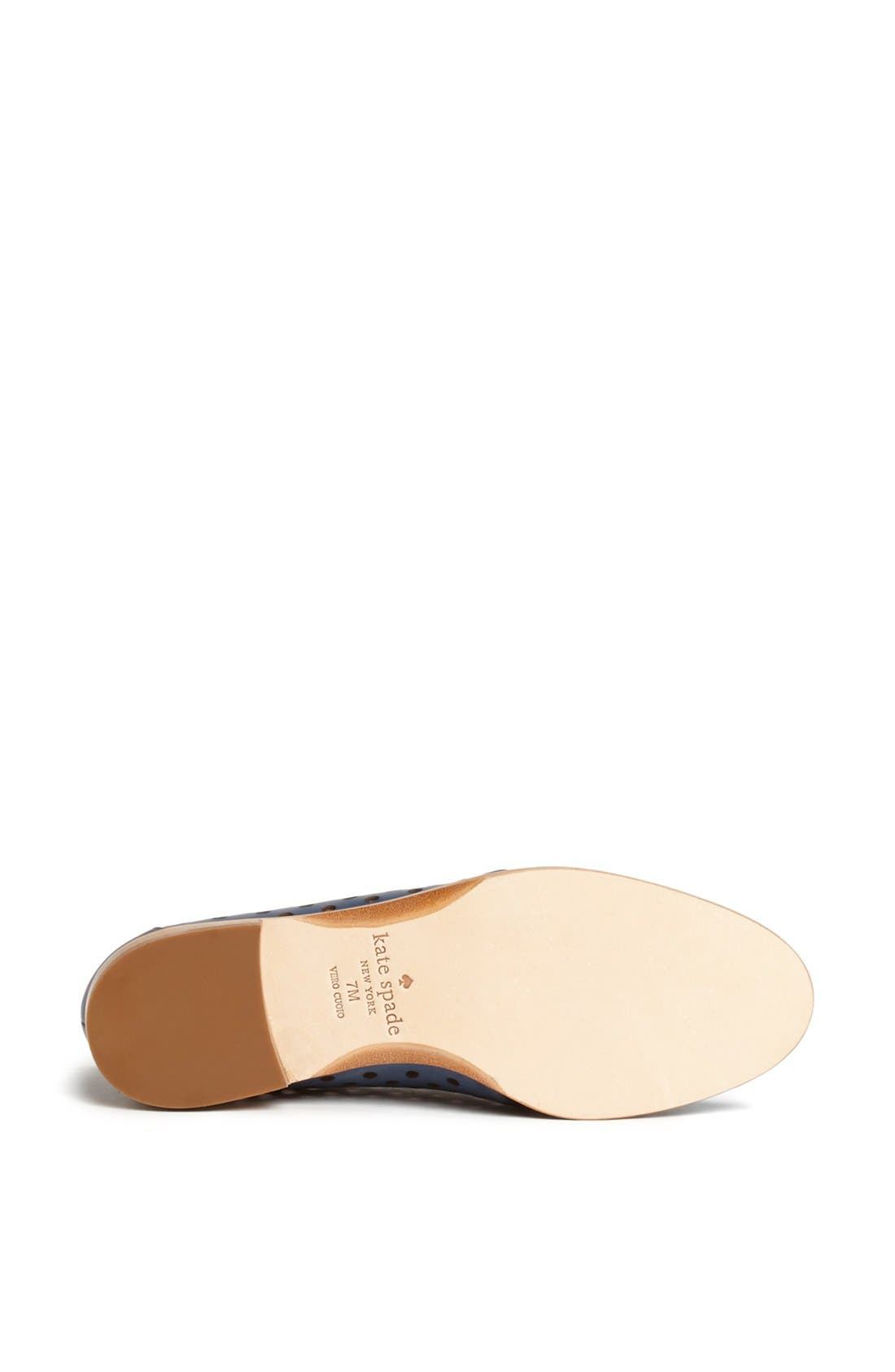 Alternate Image 4  - kate spade new york 'peekaboo' leather oxford