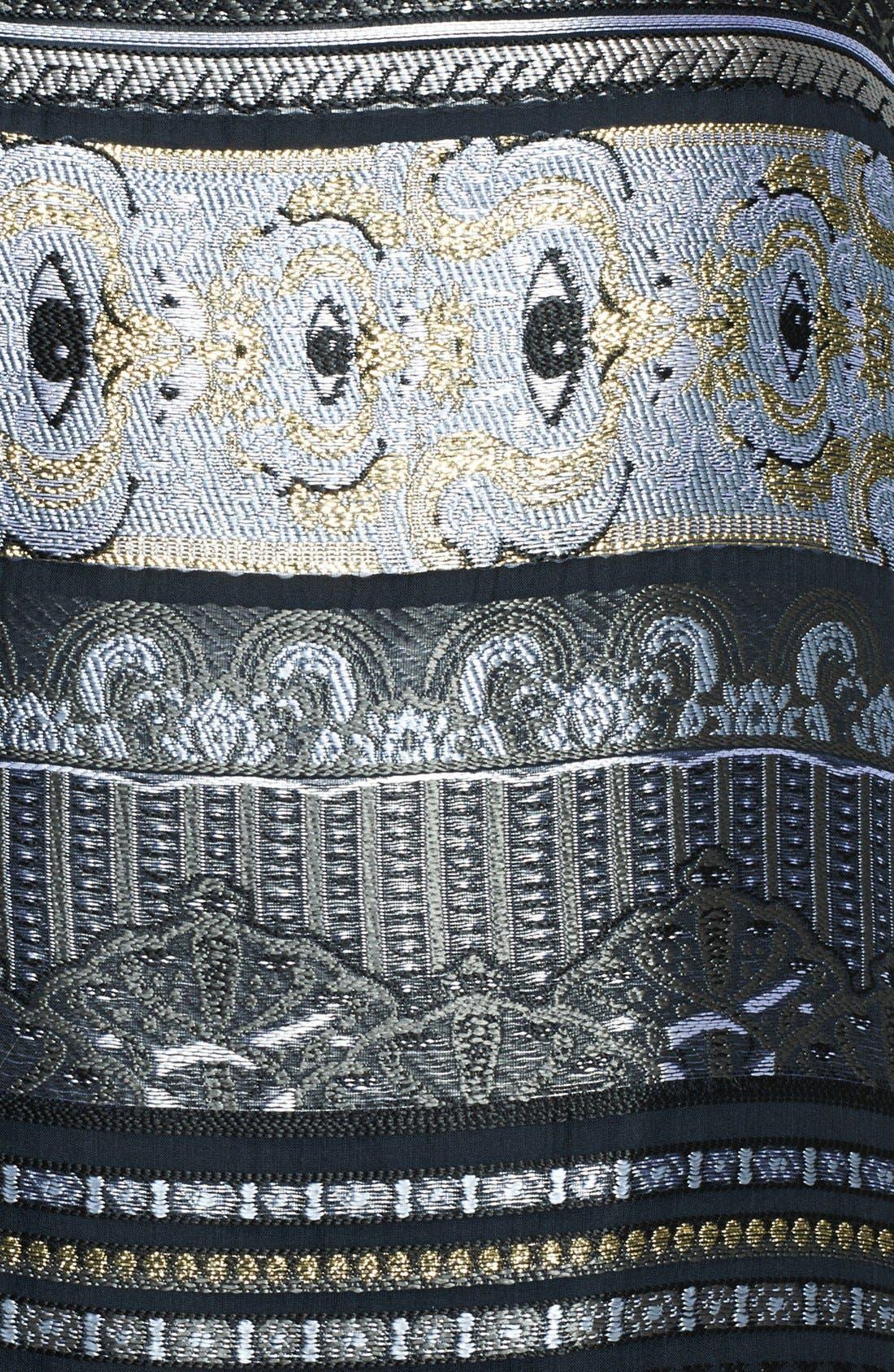 Alternate Image 3  - KENZO Invert Pleat Jacquard Miniskirt