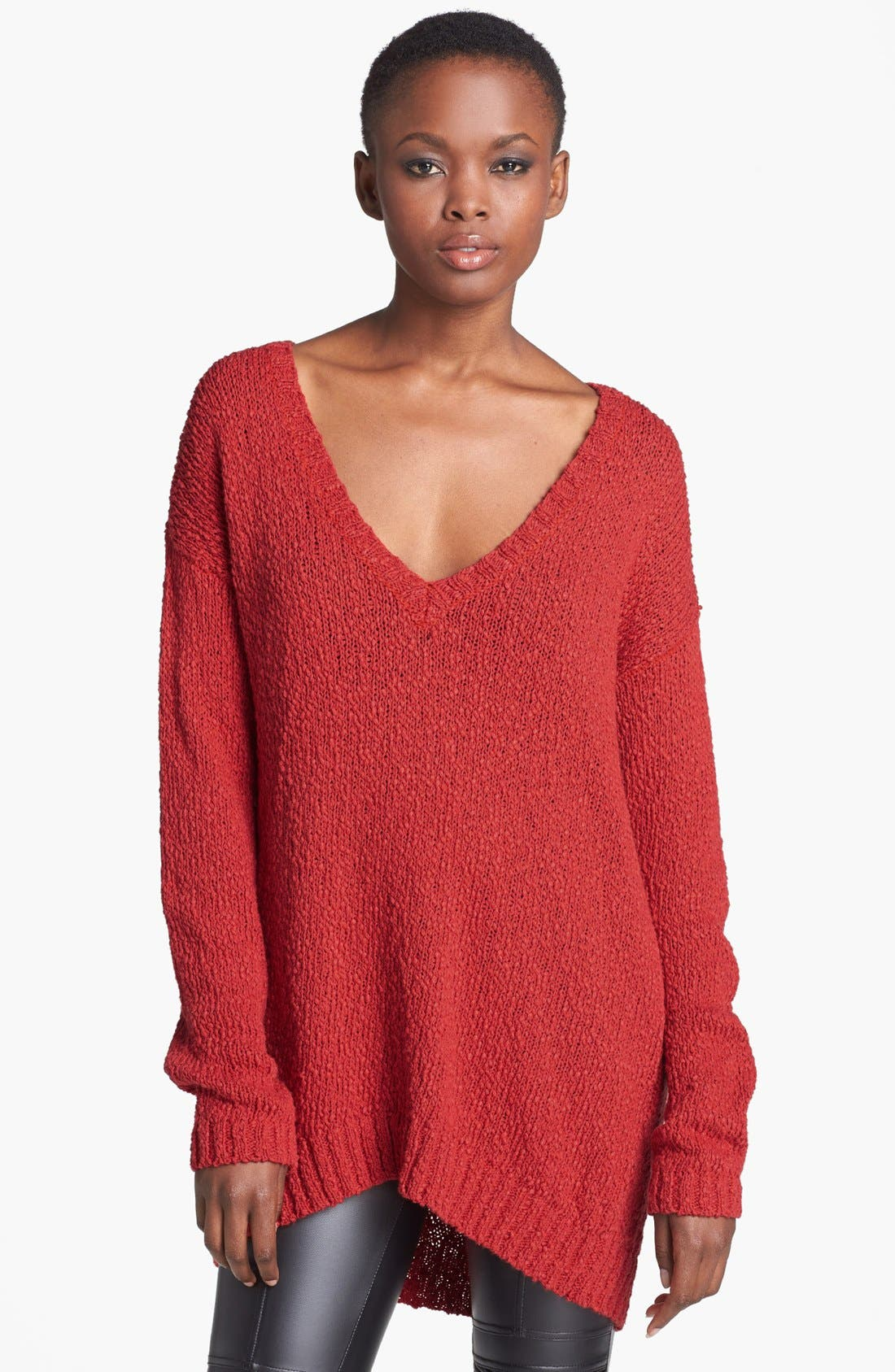 Alternate Image 1 Selected - MINKPINK 'Fader' Oversized Knit Sweater