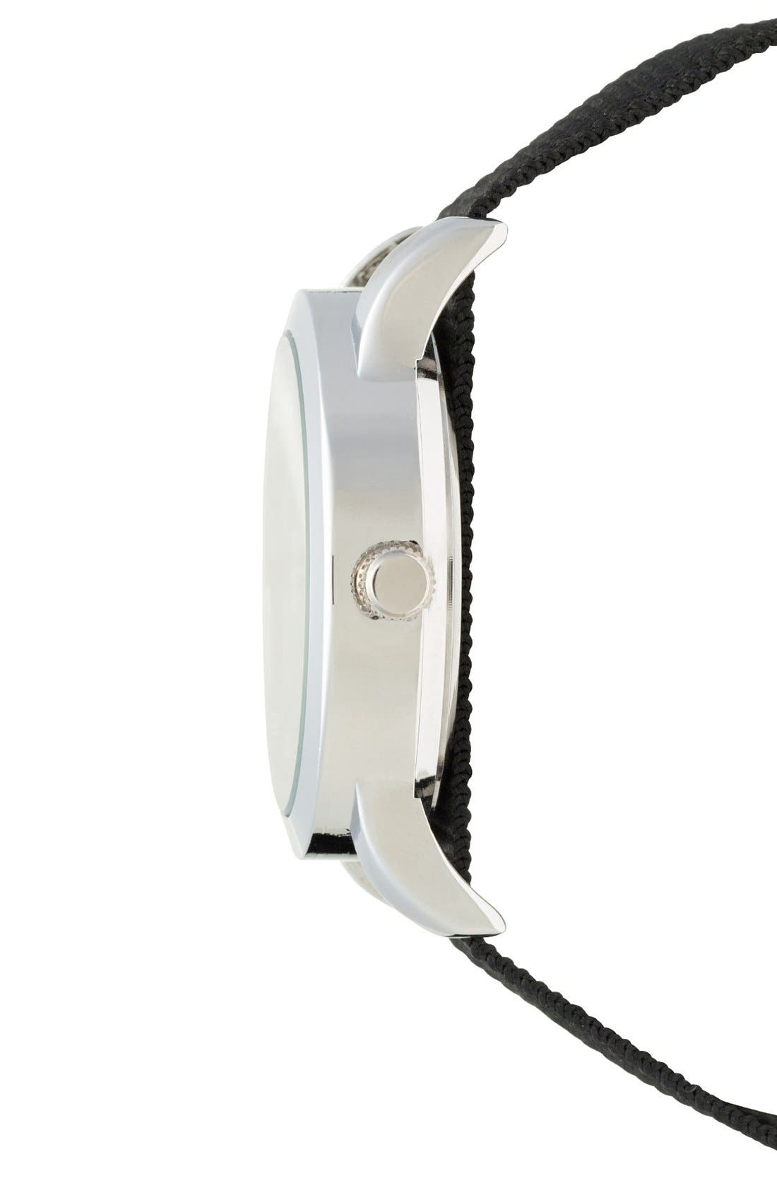 Alternate Image 2  - ACCUTIME Round Dial Interchangeable Strap Watch, 40mm