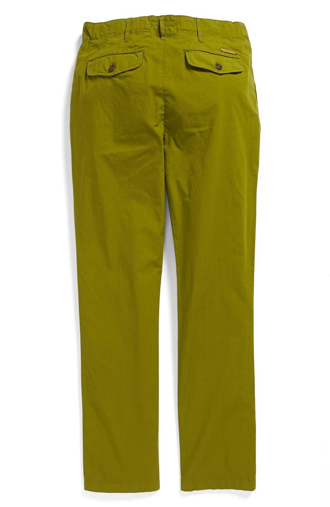 Alternate Image 2  - Burberry Straight Leg Pants (Toddler Boys, Little Boys & Big Boys)