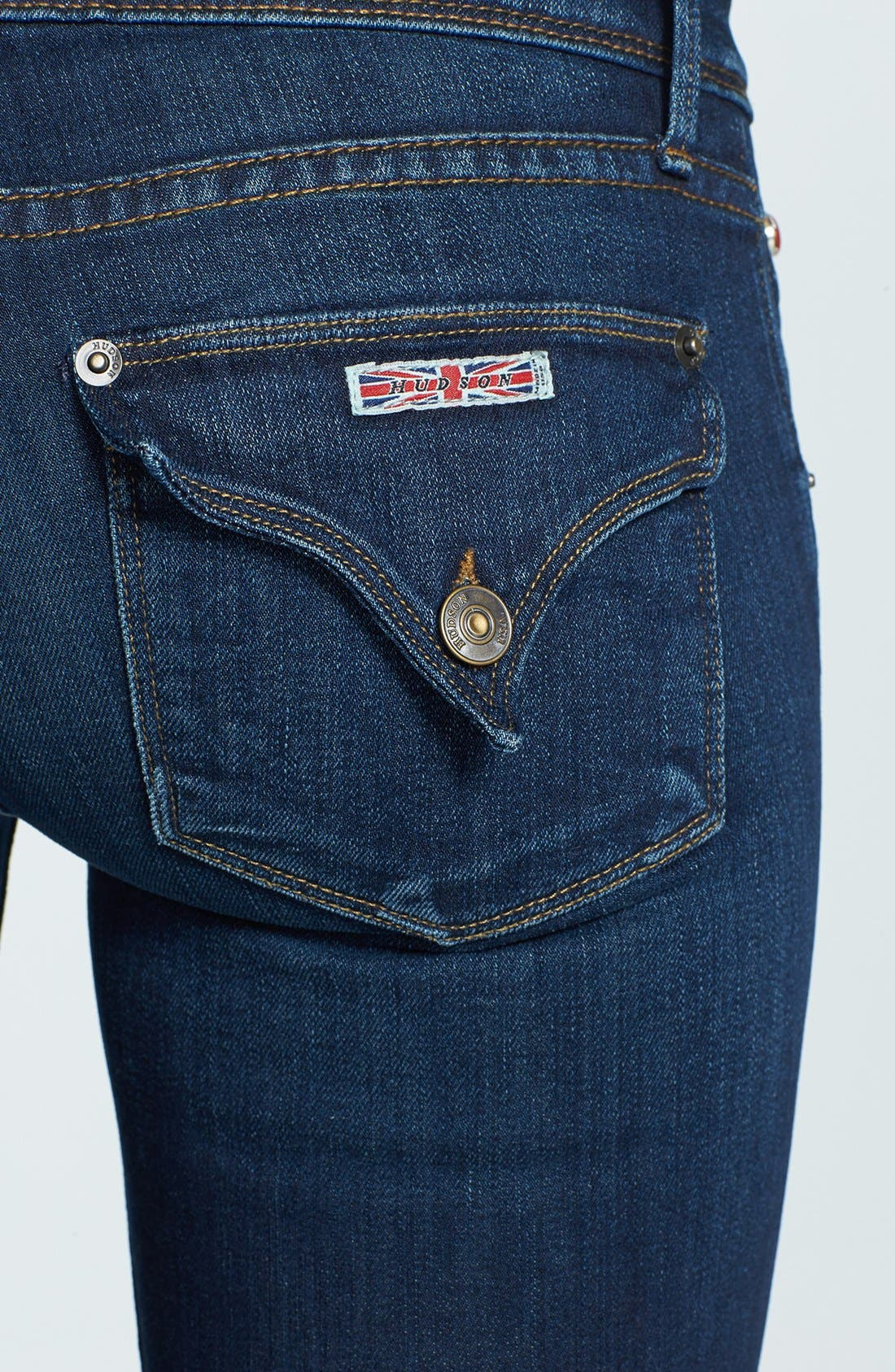 Alternate Image 3  - Hudson Jeans 'Beth' Baby Bootcut Jeans (Unplugged)