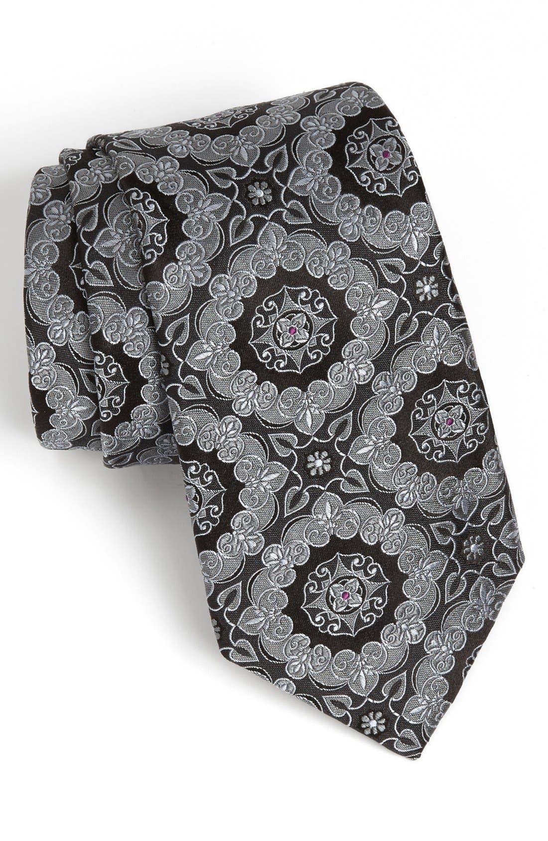 Main Image - Ted Baker London Woven Silk Tie