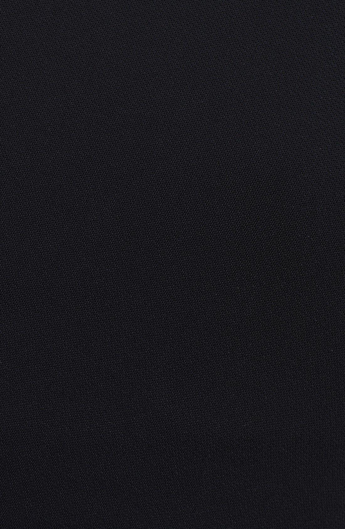Alternate Image 3  - Emilio Pucci Side Zip Stretch Cady Dress