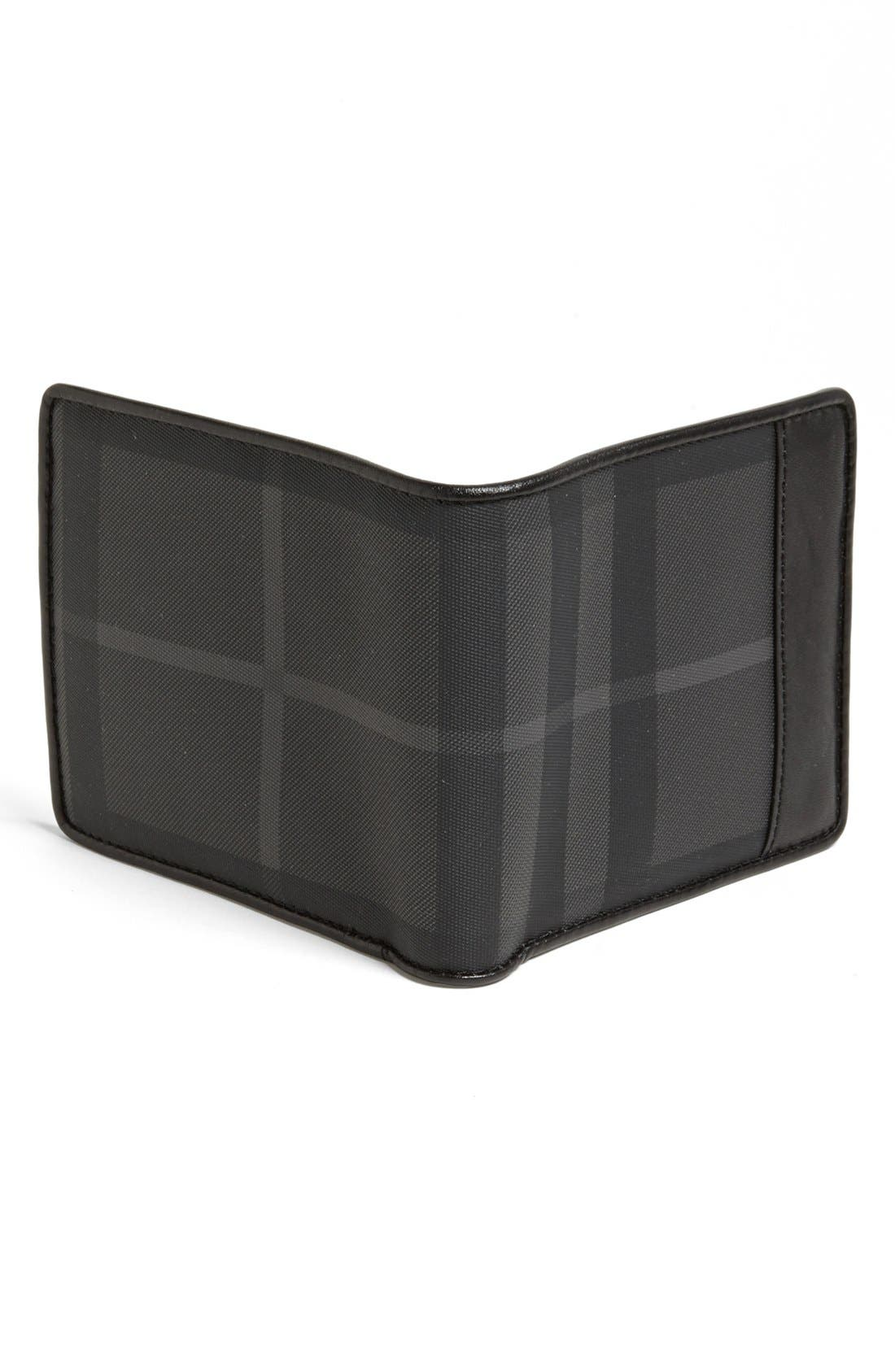 Alternate Image 3  - Burberry Check Print Bifold Wallet