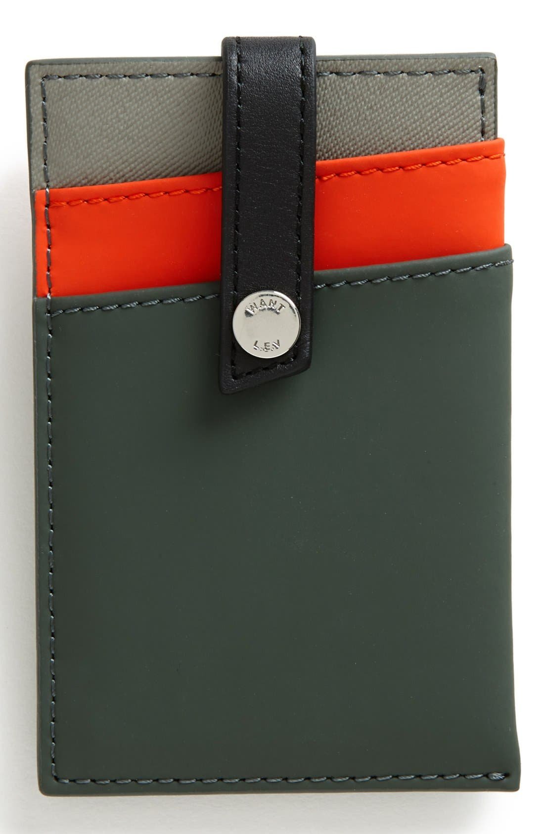 Alternate Image 1 Selected - WANT LES ESSENTIELS 'Kennedy' Money Clip Wallet