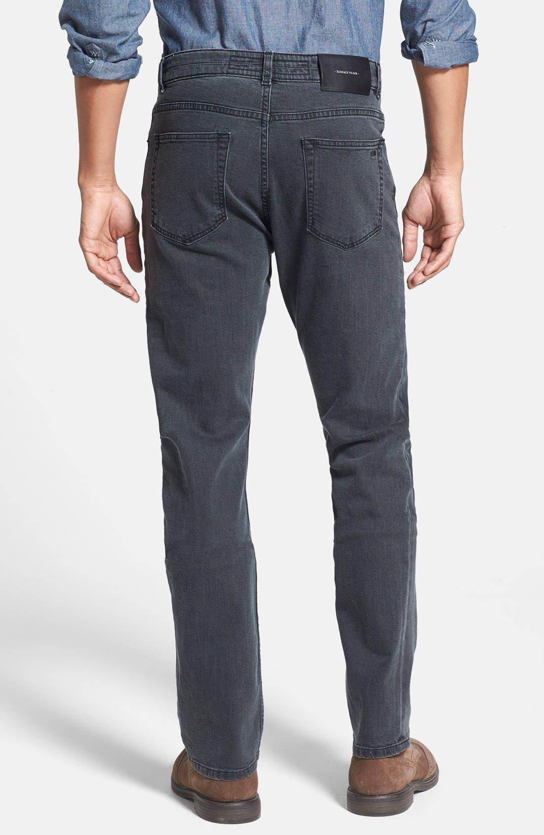 Alternate Image 2  - Surface to Air Five Pocket Slim Fit Pants