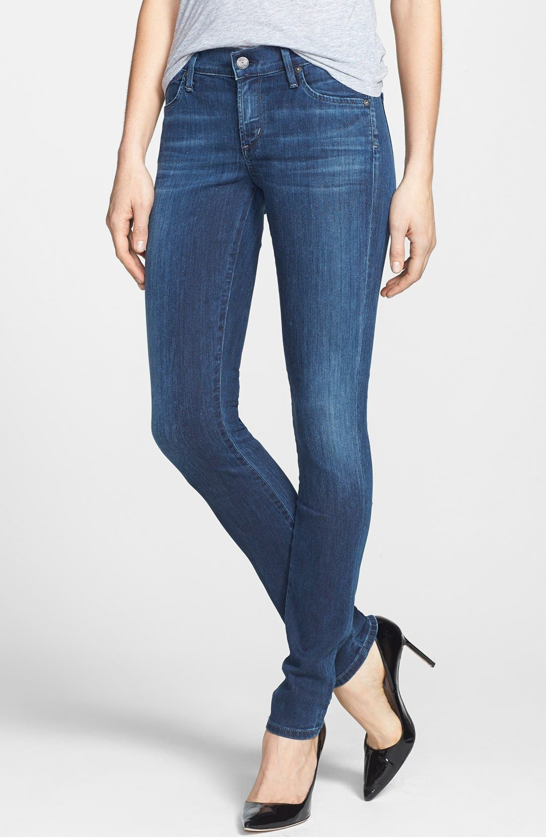 Alternate Image 1 Selected - Citizens of Humanity Skinny Stretch Jeans (Secret)