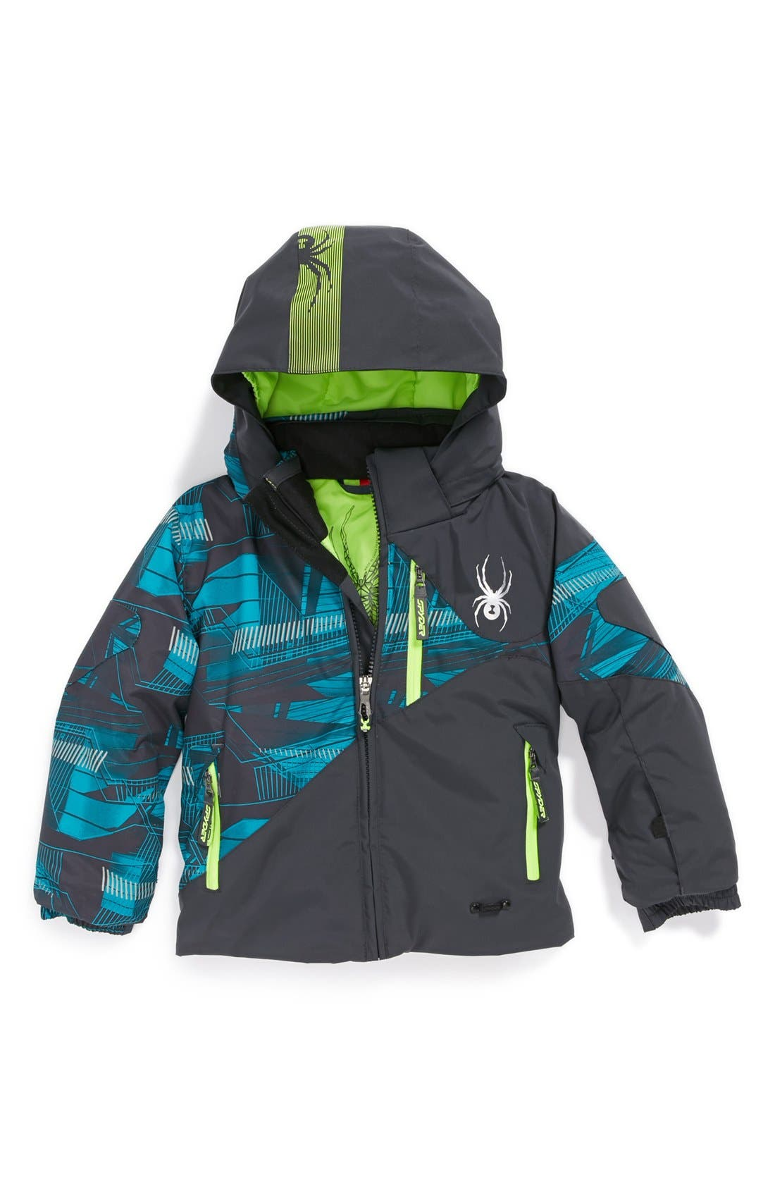 Alternate Image 1 Selected - Spyder 'Enforcer' Jacket (Toddler Boys)