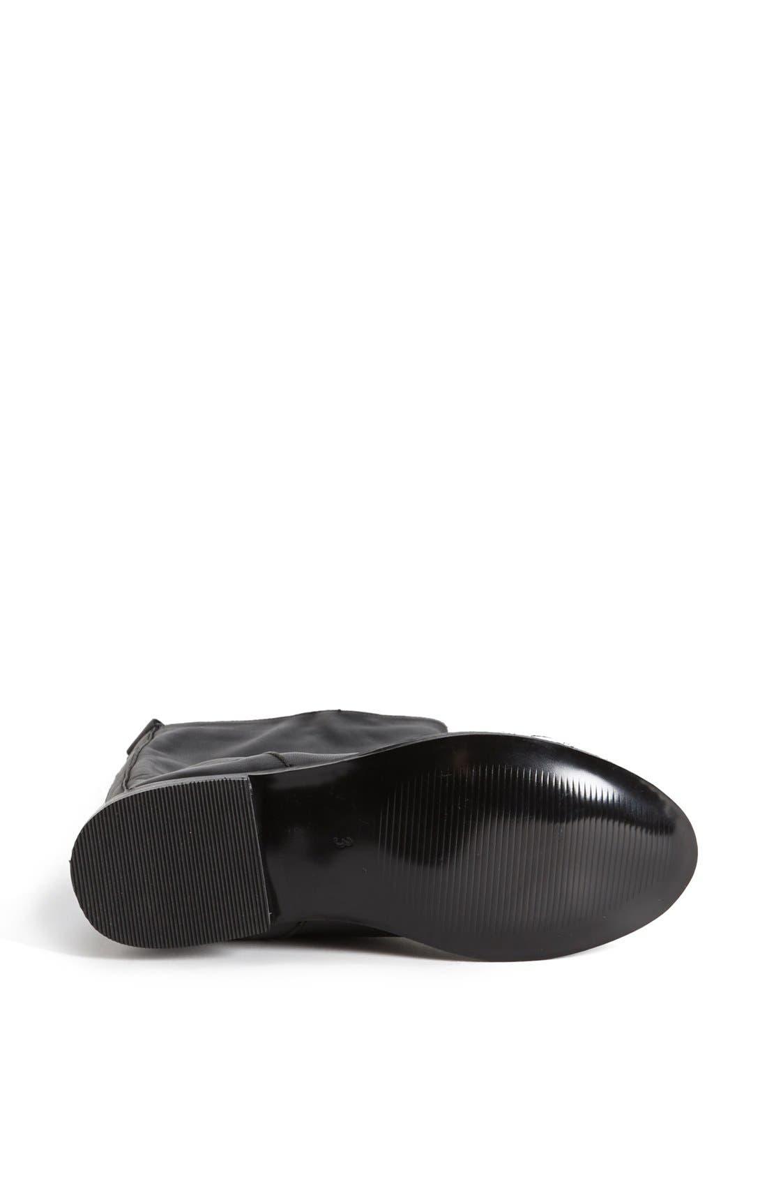 Alternate Image 4  - Topshop 'Dancer' Leather Riding Boot