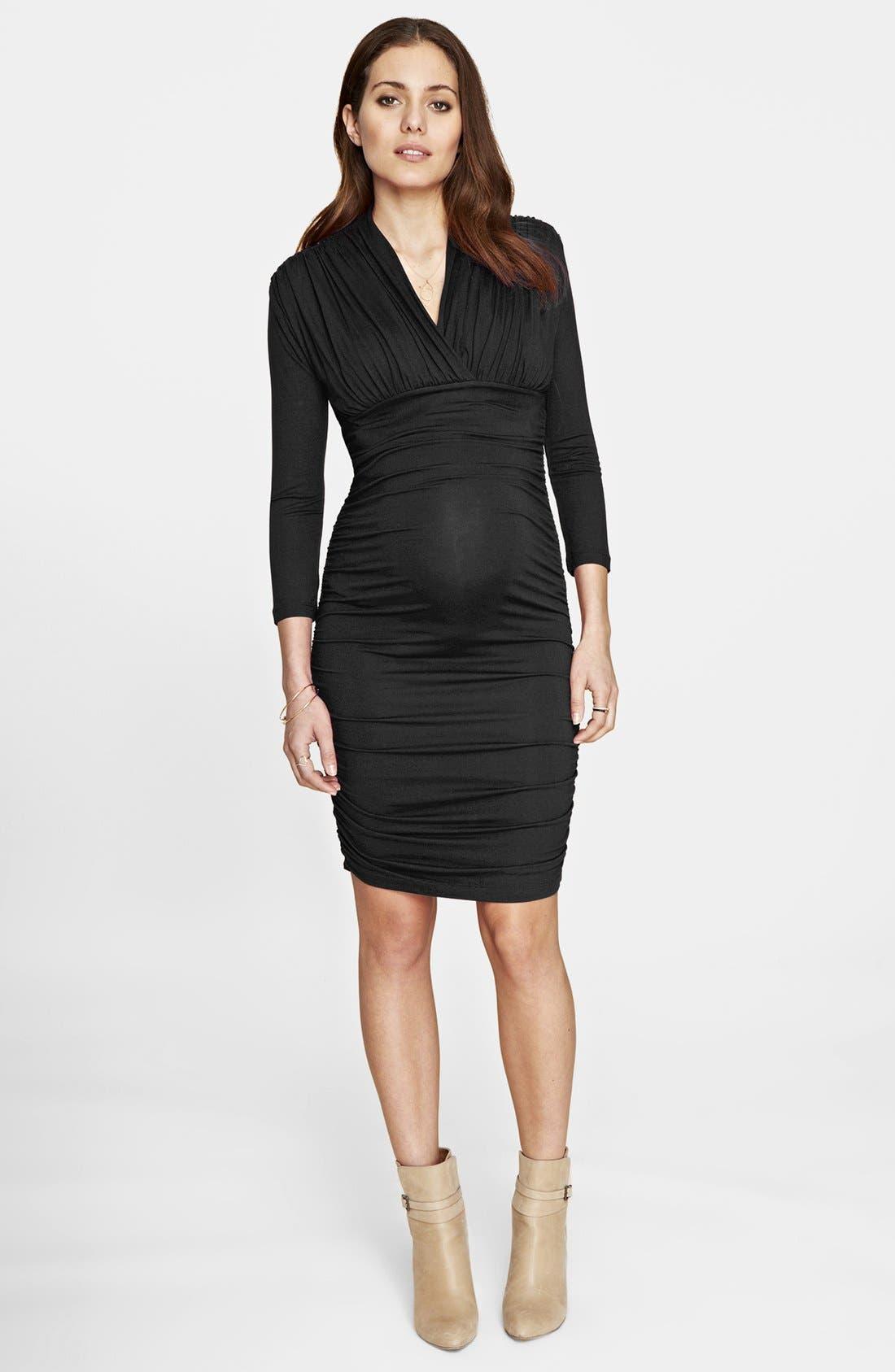Alternate Image 3  - Isabella Oliver 'Olivia' Maternity Dress