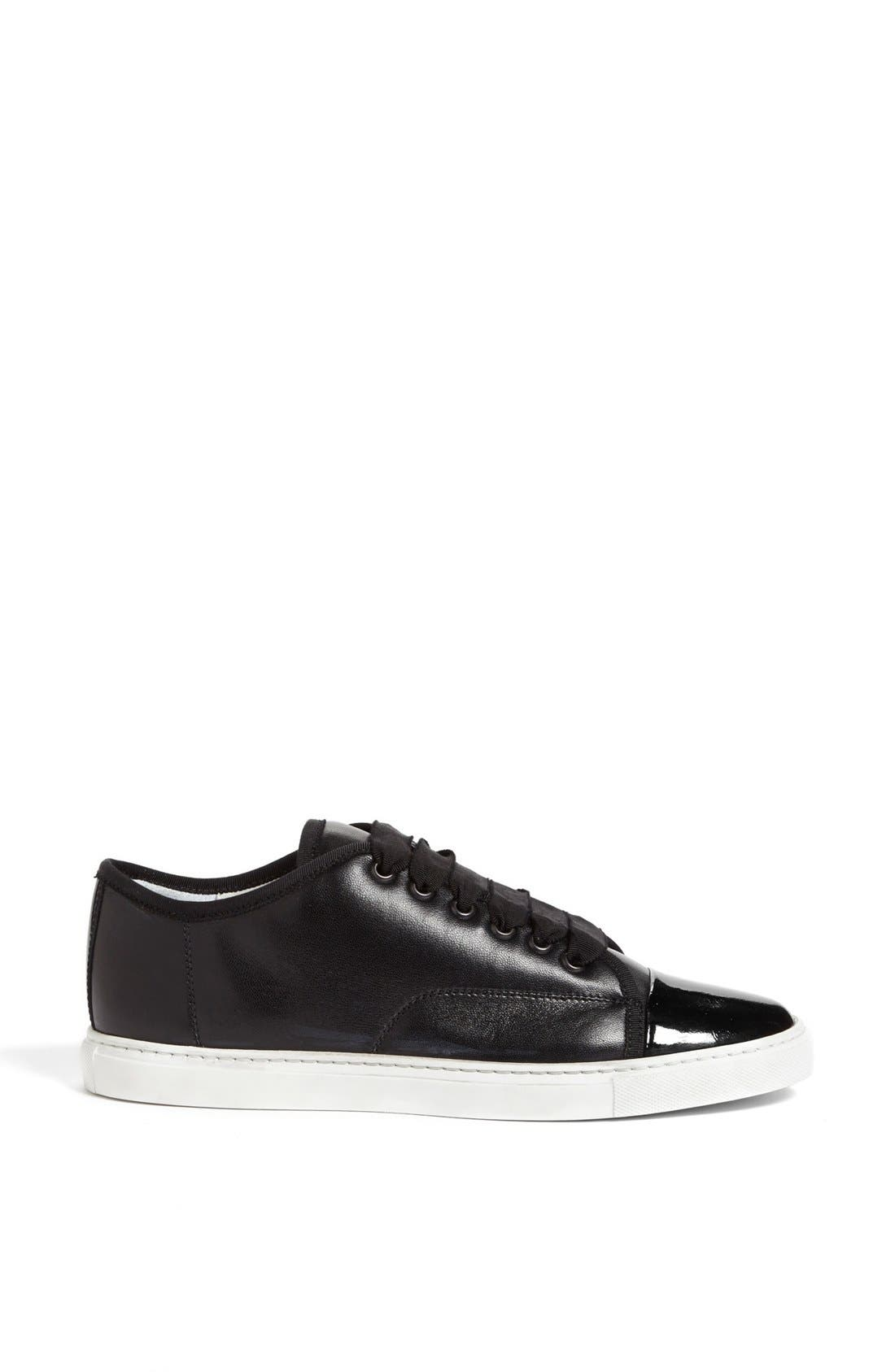 Alternate Image 4  - Lanvin Leather Low Top Sneaker