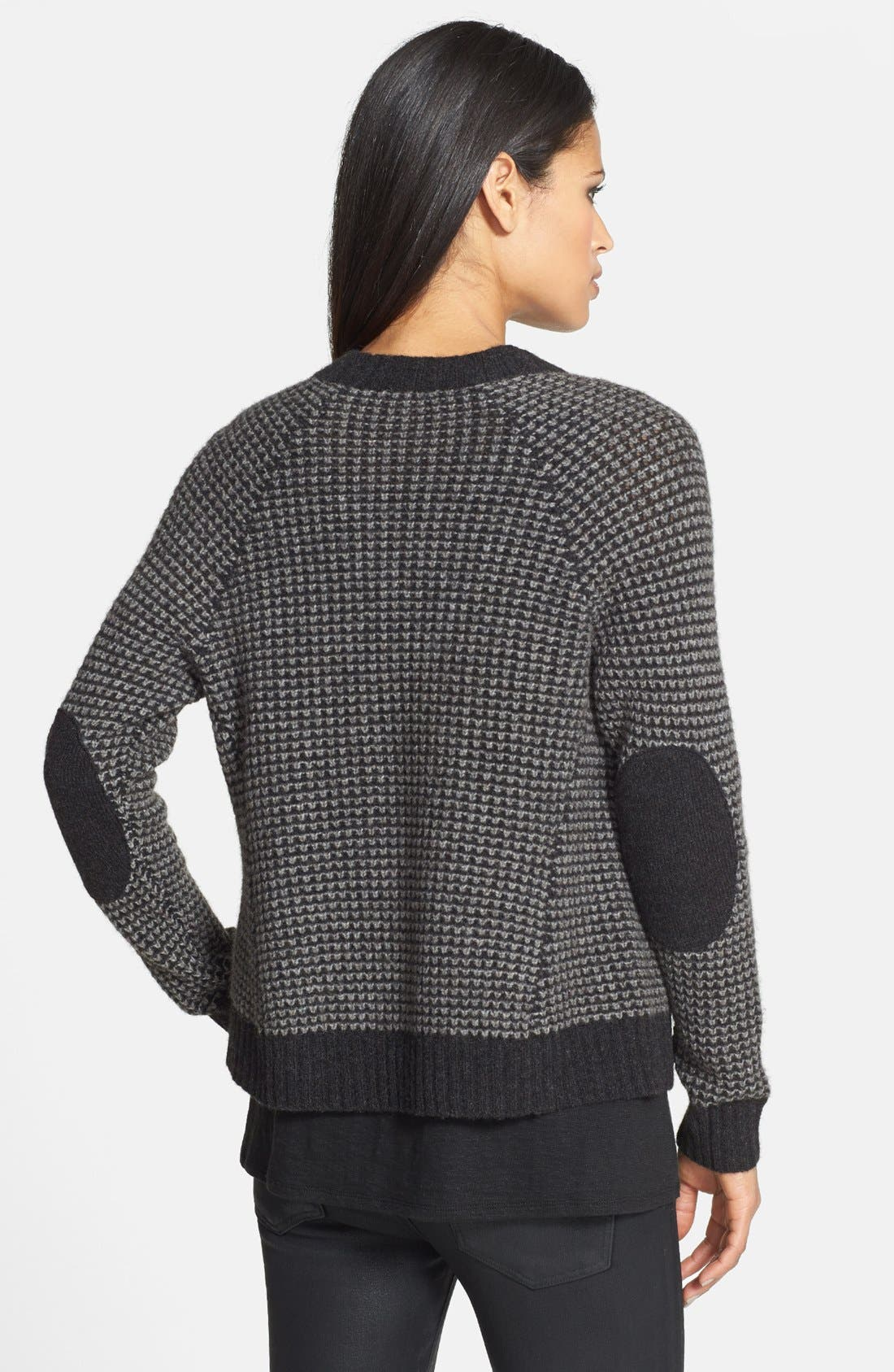 Alternate Image 2  - Eileen Fisher Wool & Yak Wool Drape Front Cardigan
