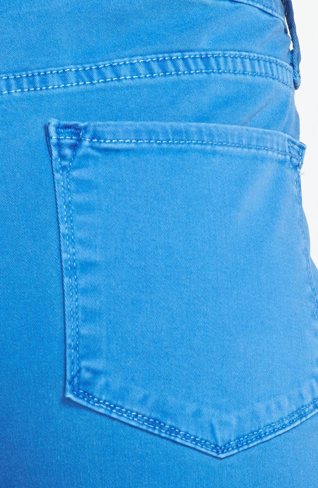 Alternate Image 3  - NYDJ 'Sheri' Colored Stretch Denim Skinny Jeans