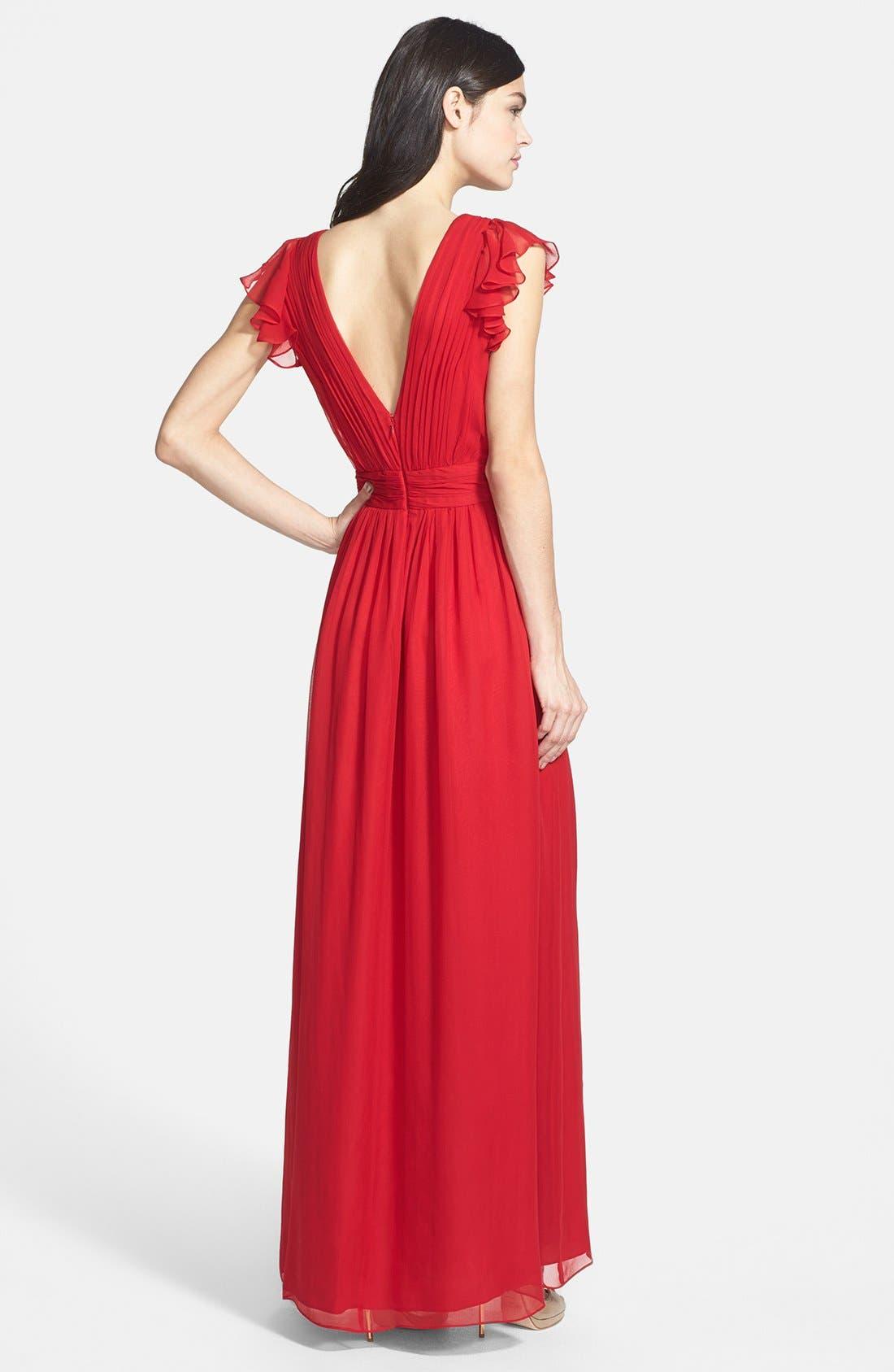 Alternate Image 2  - Jill Jill Stuart Silk Chiffon Dress