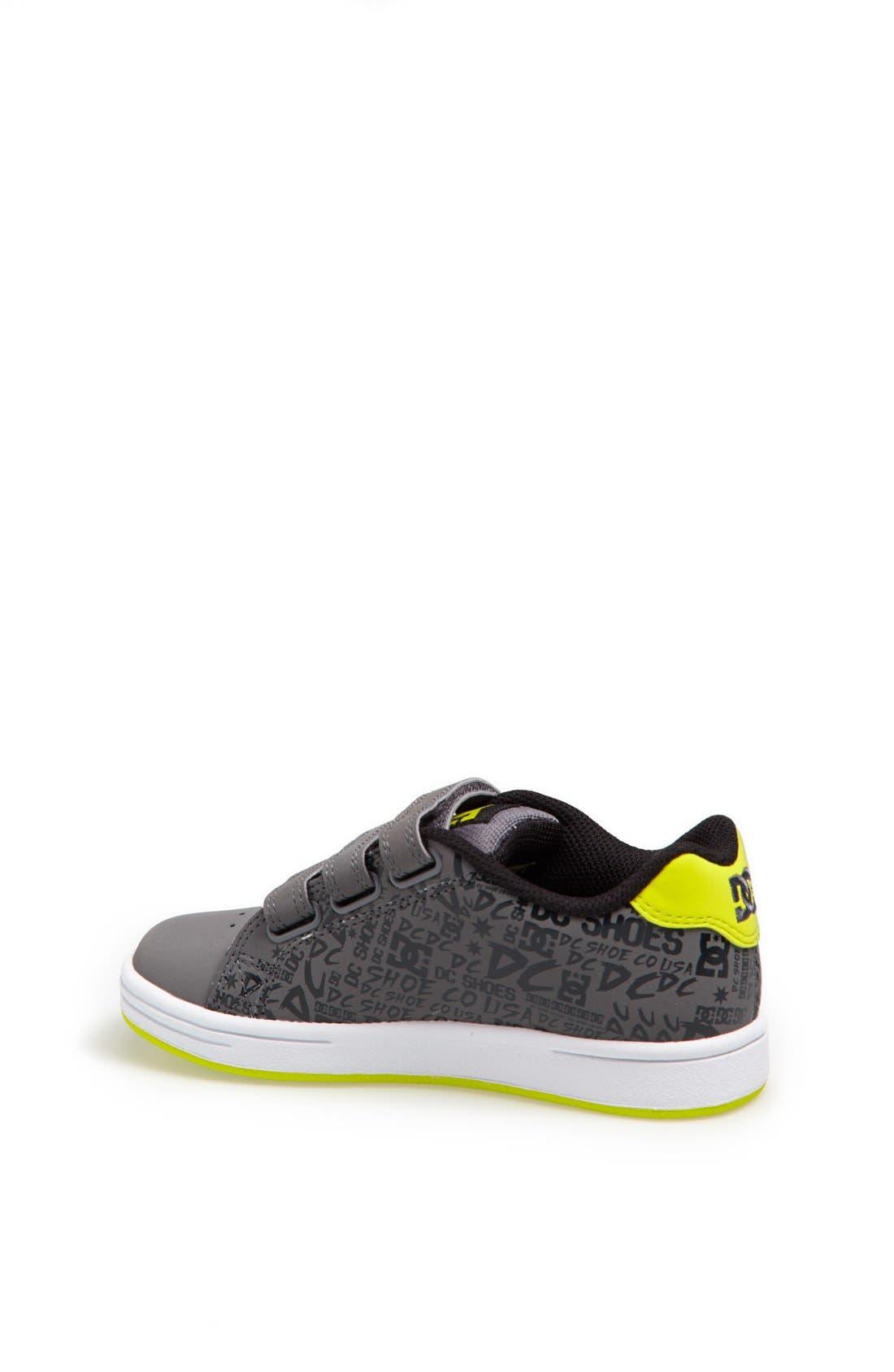 Alternate Image 2  - DC Shoes 'Character V' Sneaker (Toddler & Little Kid)