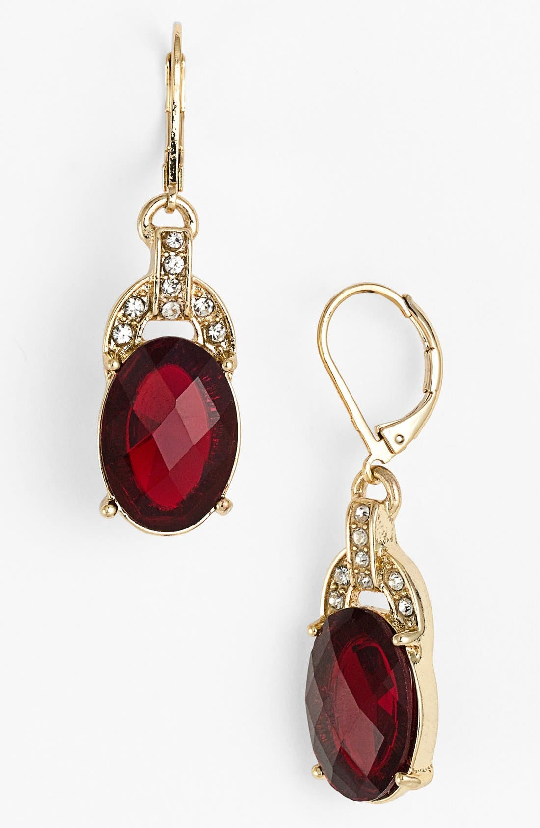 Alternate Image 1 Selected - Anne Klein Stone Drop Earrings