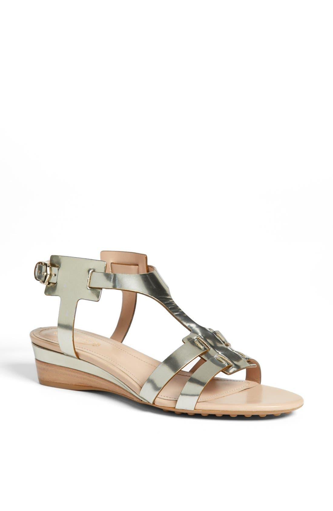 Main Image - Tod's 'Zeppa' Wedge Sandal
