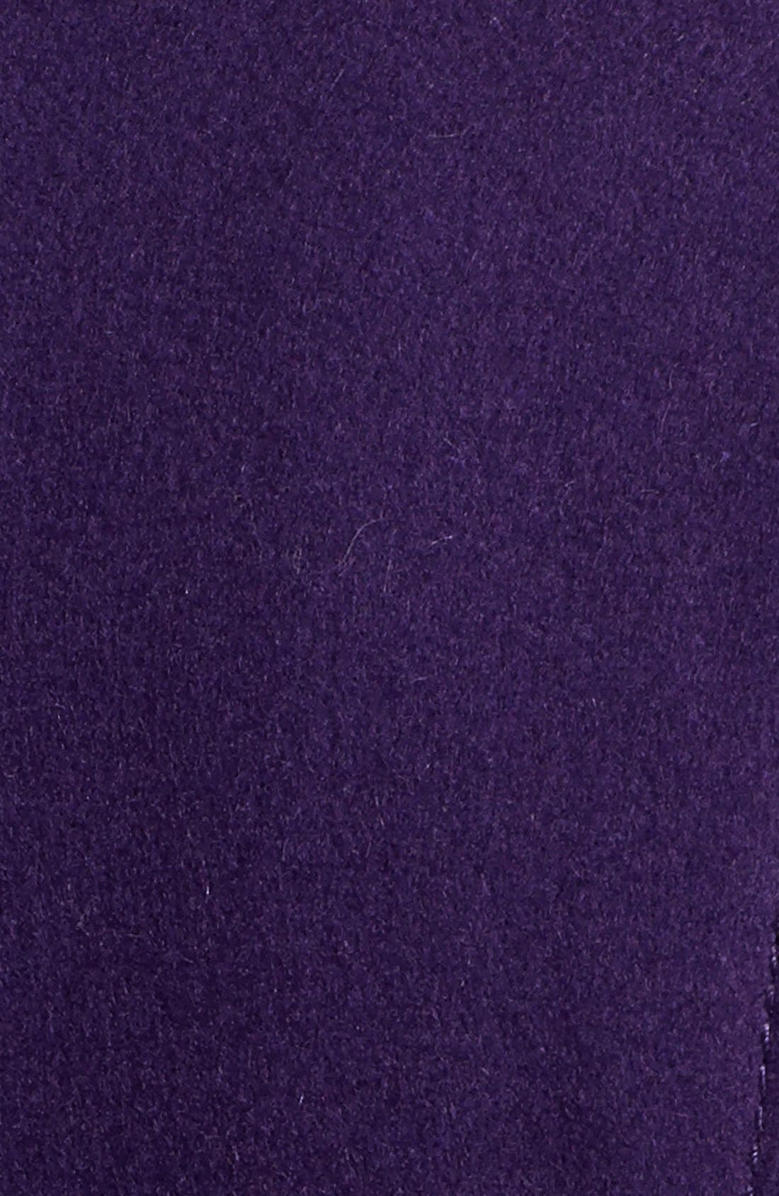 Alternate Image 3  - GUESS Exaggerated Collar Wool Blend Coat (Petite)