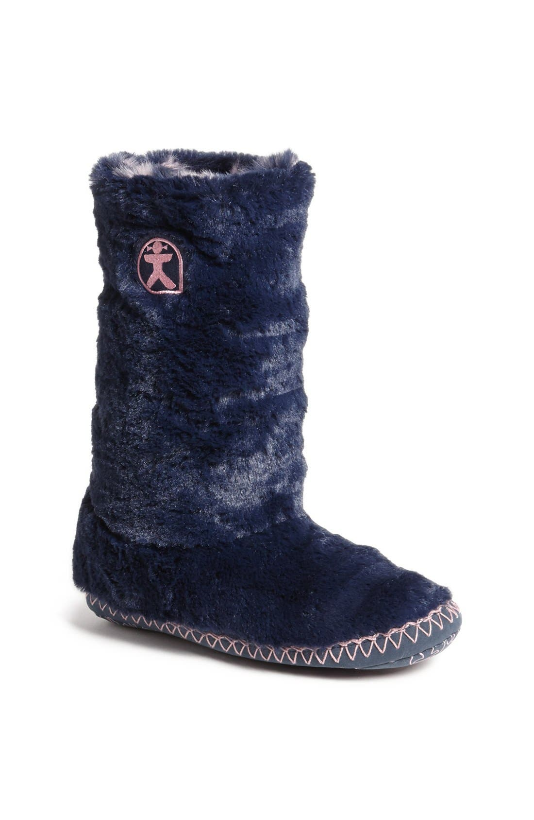 Main Image - Bedroom Athletics 'Sophia' Faux Fur Bootie Slipper