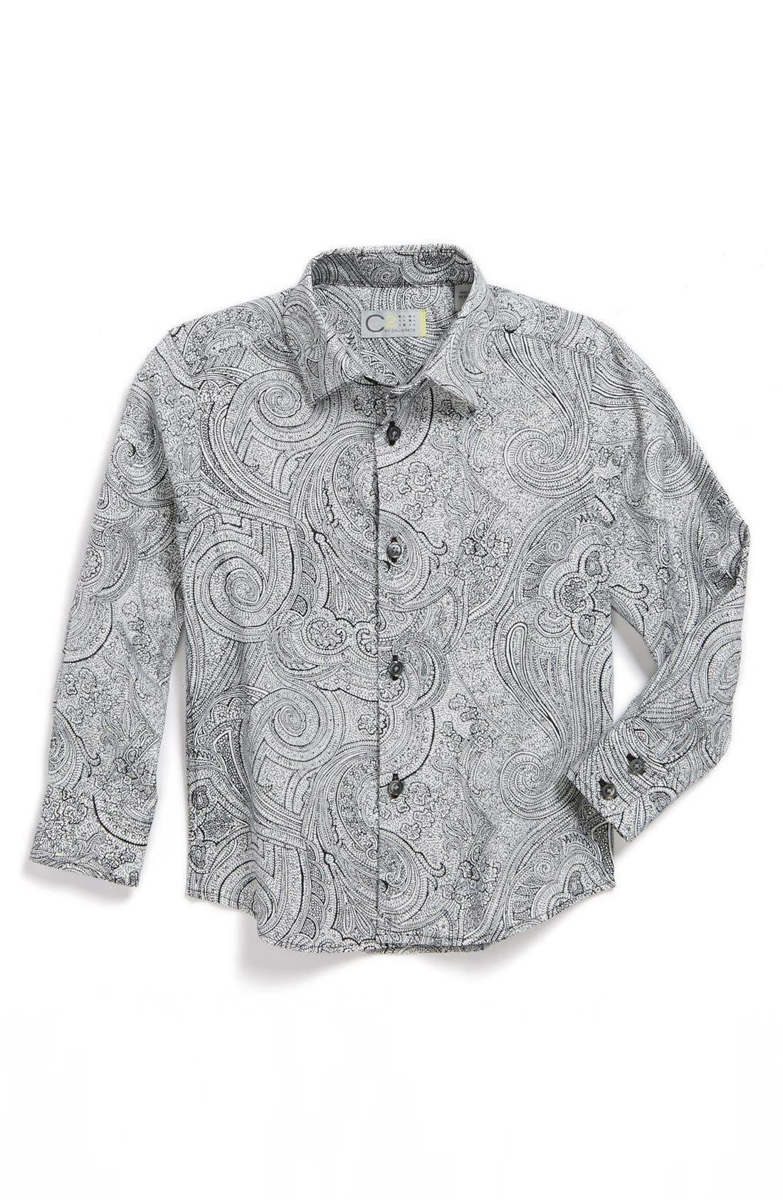 Alternate Image 1 Selected - C2 by Calibrate 'Carter' Dress Shirt (Toddler Boys)