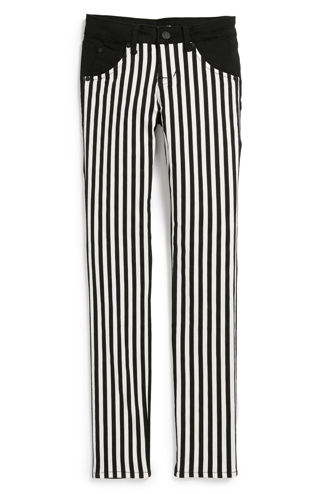 Alternate Image 1 Selected - Hudson Kids 'Collin' Skinny Jeans (Vice Versa) (Big Girls)