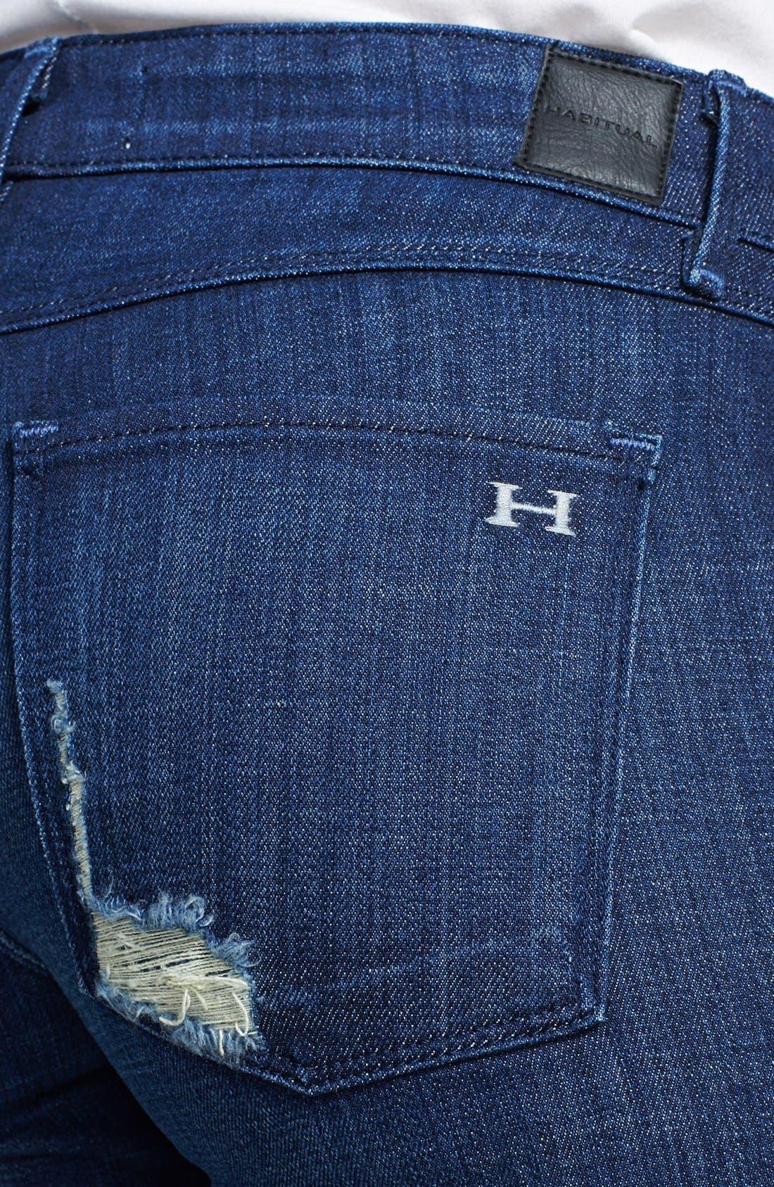 Alternate Image 3  - Habitual 'Alice' Skinny Jeans