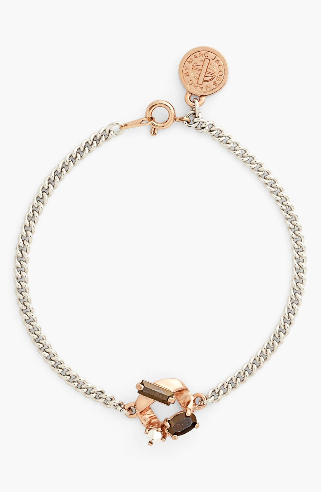 Main Image - MARC BY MARC JACOBS 'Link to Katie - Tiny ' Embellished Bracelet