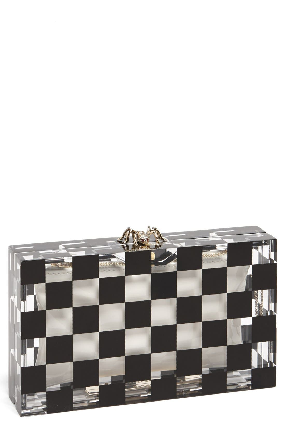 Alternate Image 1 Selected - Charlotte Olympia 'Pandora Squared' Clutch